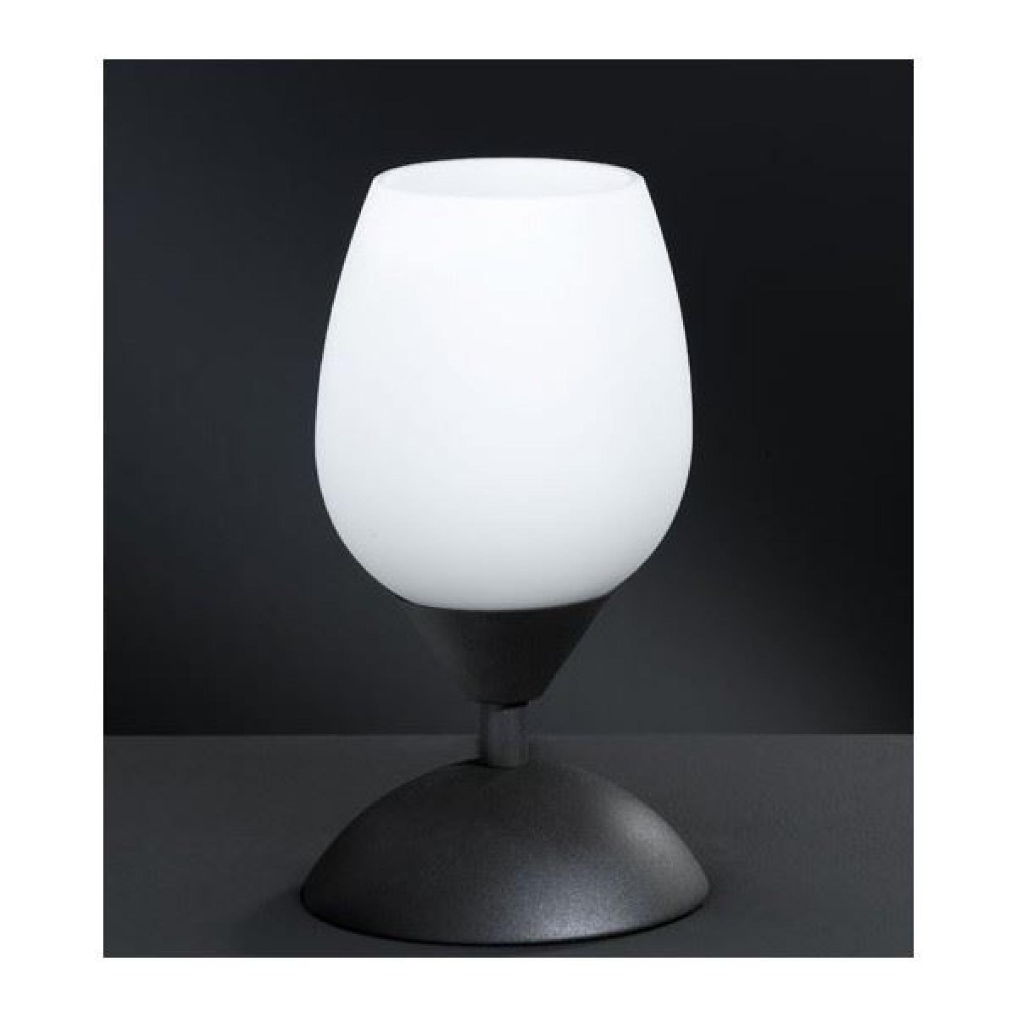Et Tactile Chevet Noir Lampe Blanc kOPuZiTX