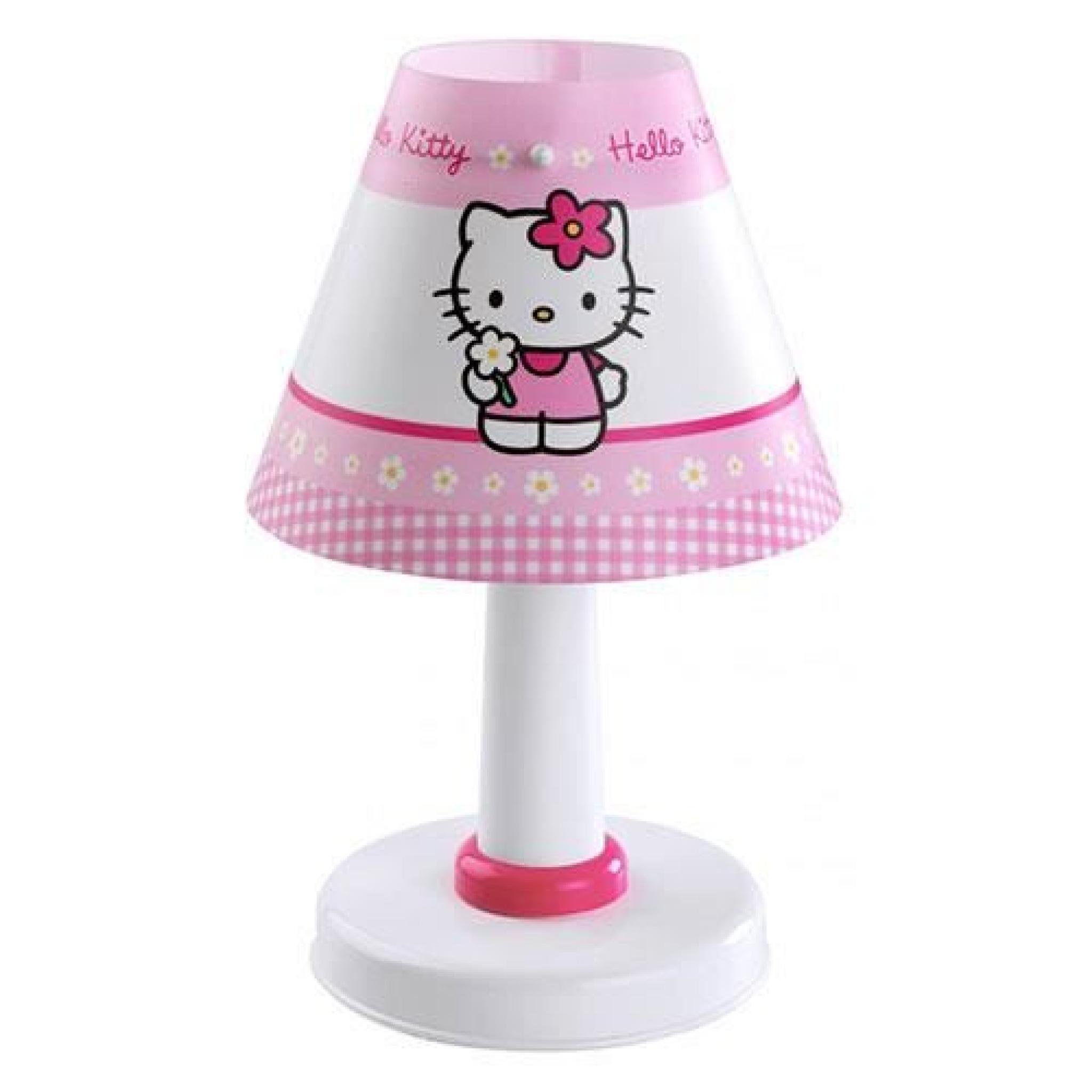 lampe de chevet hello kitty achat vente lampe a poser pas cher couleur et. Black Bedroom Furniture Sets. Home Design Ideas