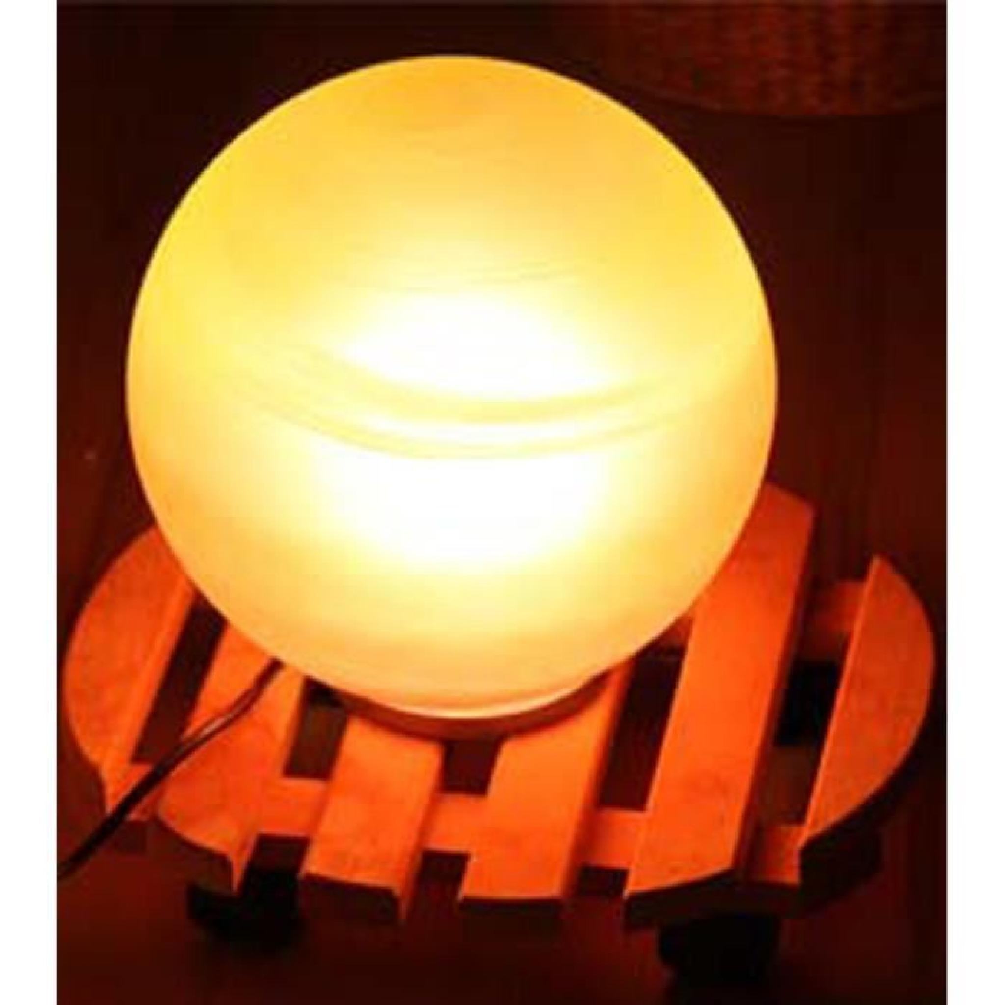 lampe de table billes orange en verre 20 cm achat vente lampe a poser pas cher couleur et. Black Bedroom Furniture Sets. Home Design Ideas