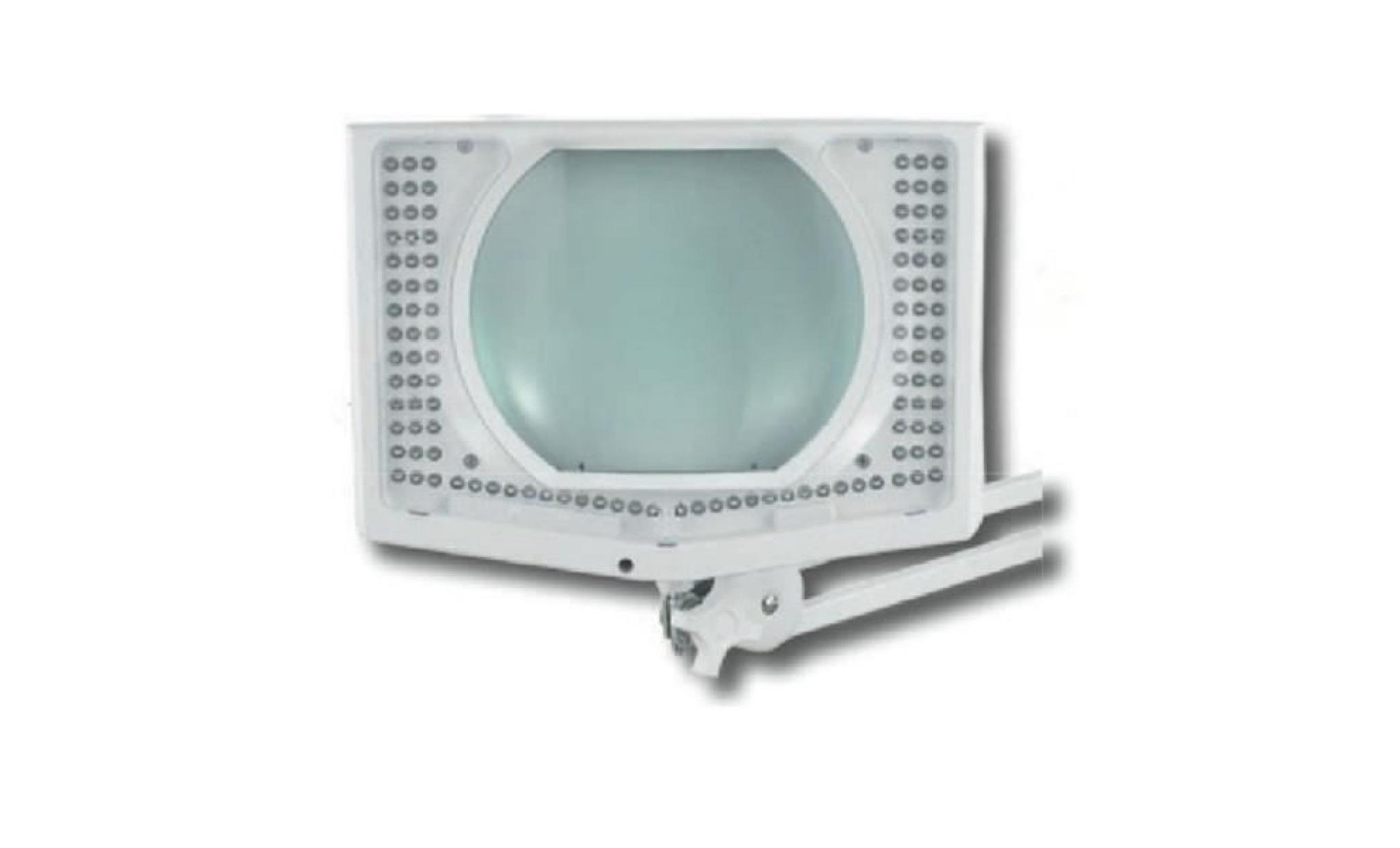Lux177ec Electris Étau Led 108 Rectangulaire Leds Loupe Lampe 345larj 2HDE9I