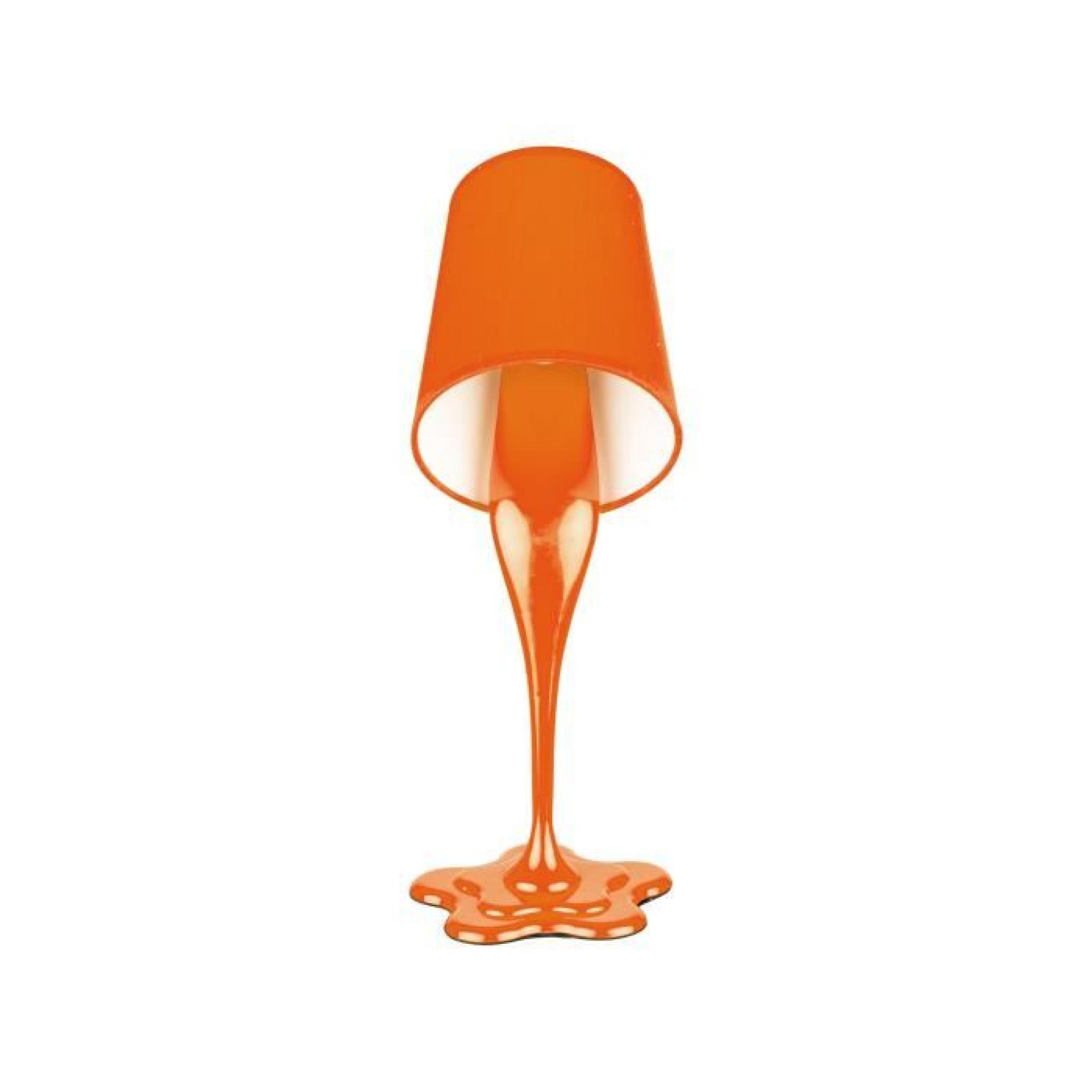 lampe pot de peinture orange achat vente. Black Bedroom Furniture Sets. Home Design Ideas