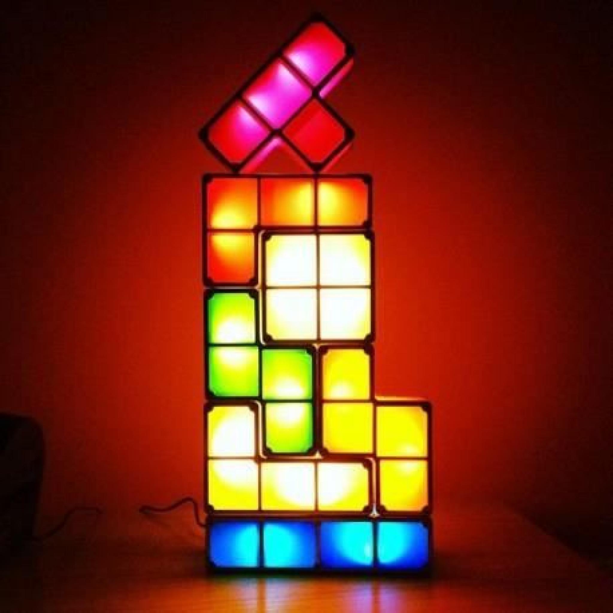 Lampe Tetris Tetris Design Lampe Modulable NnwOv8m0