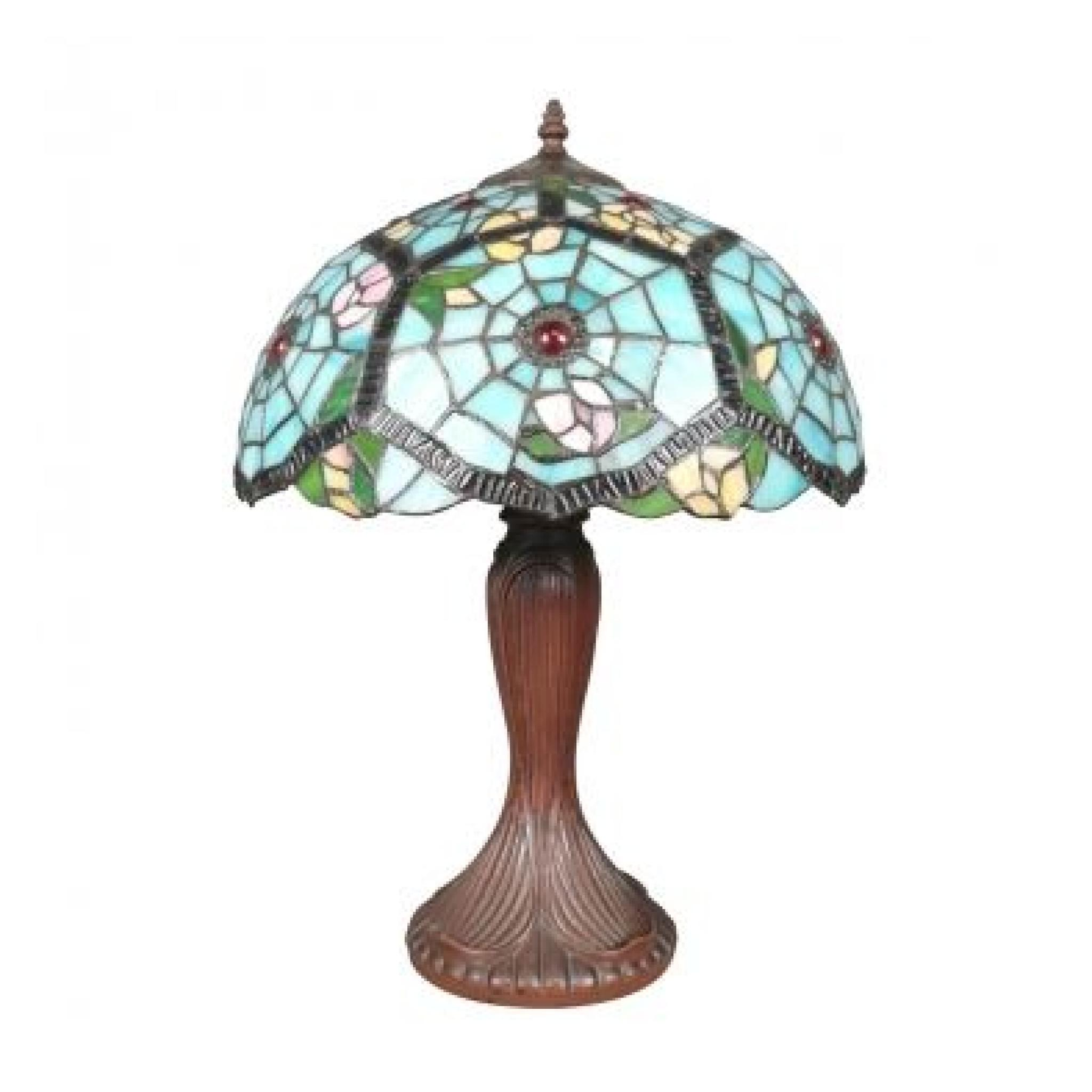 lampe tiffany achat vente lampe a poser pas cher. Black Bedroom Furniture Sets. Home Design Ideas