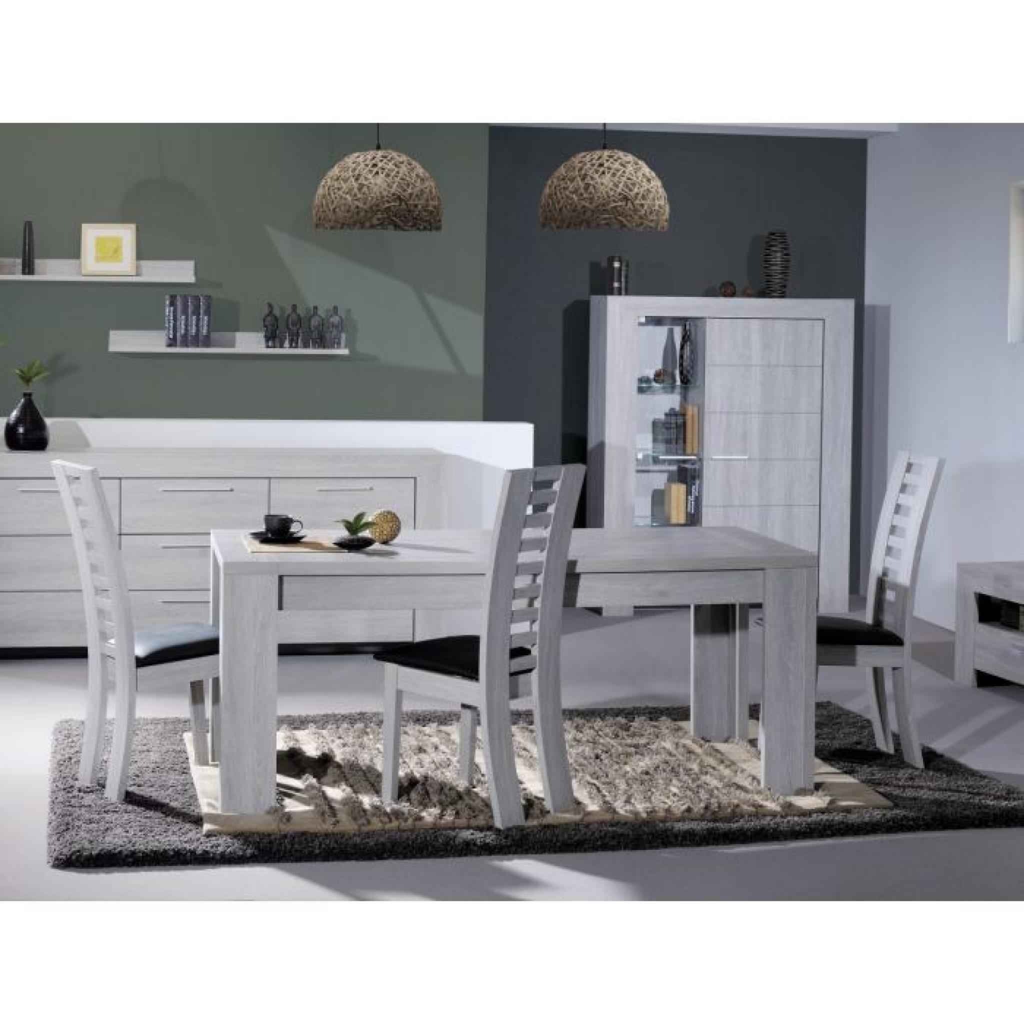LATHI Table extensible 180-260cm gris clair