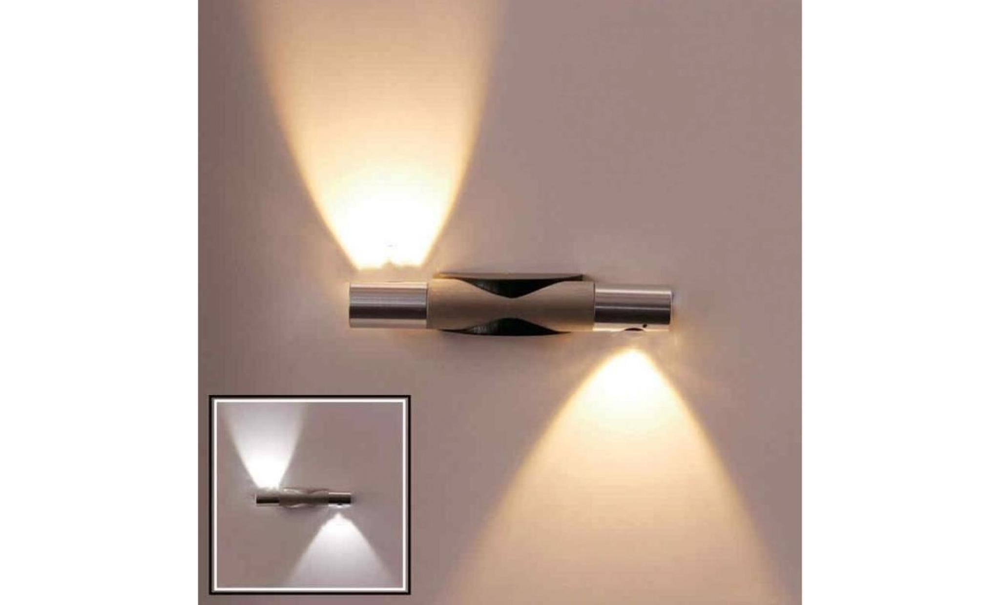 Led lampe applique murale puissance 2w clairage for Applique murale design salon