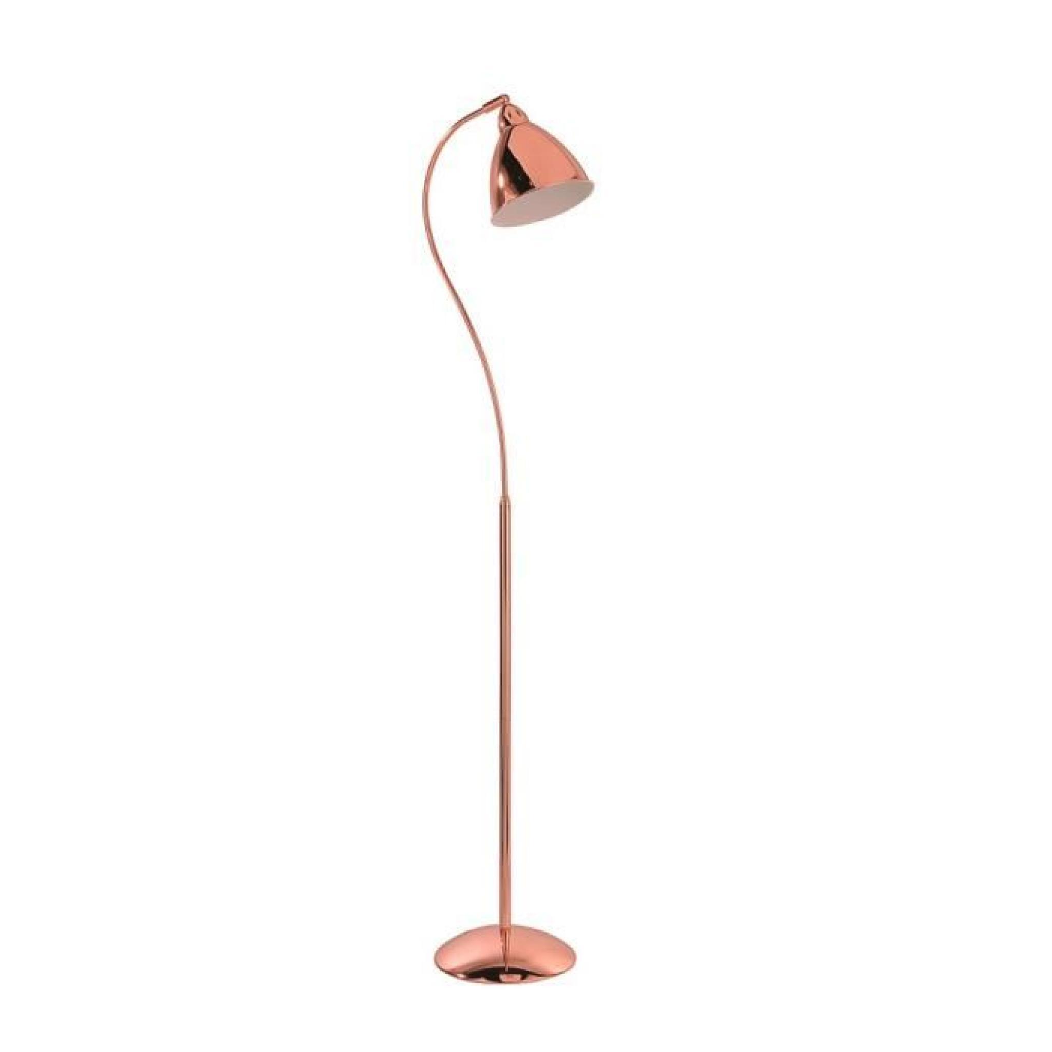 leuchtendirekt 11025 20 lampadaire cuivre skeleton achat vente lampadaire pas cher couleur. Black Bedroom Furniture Sets. Home Design Ideas