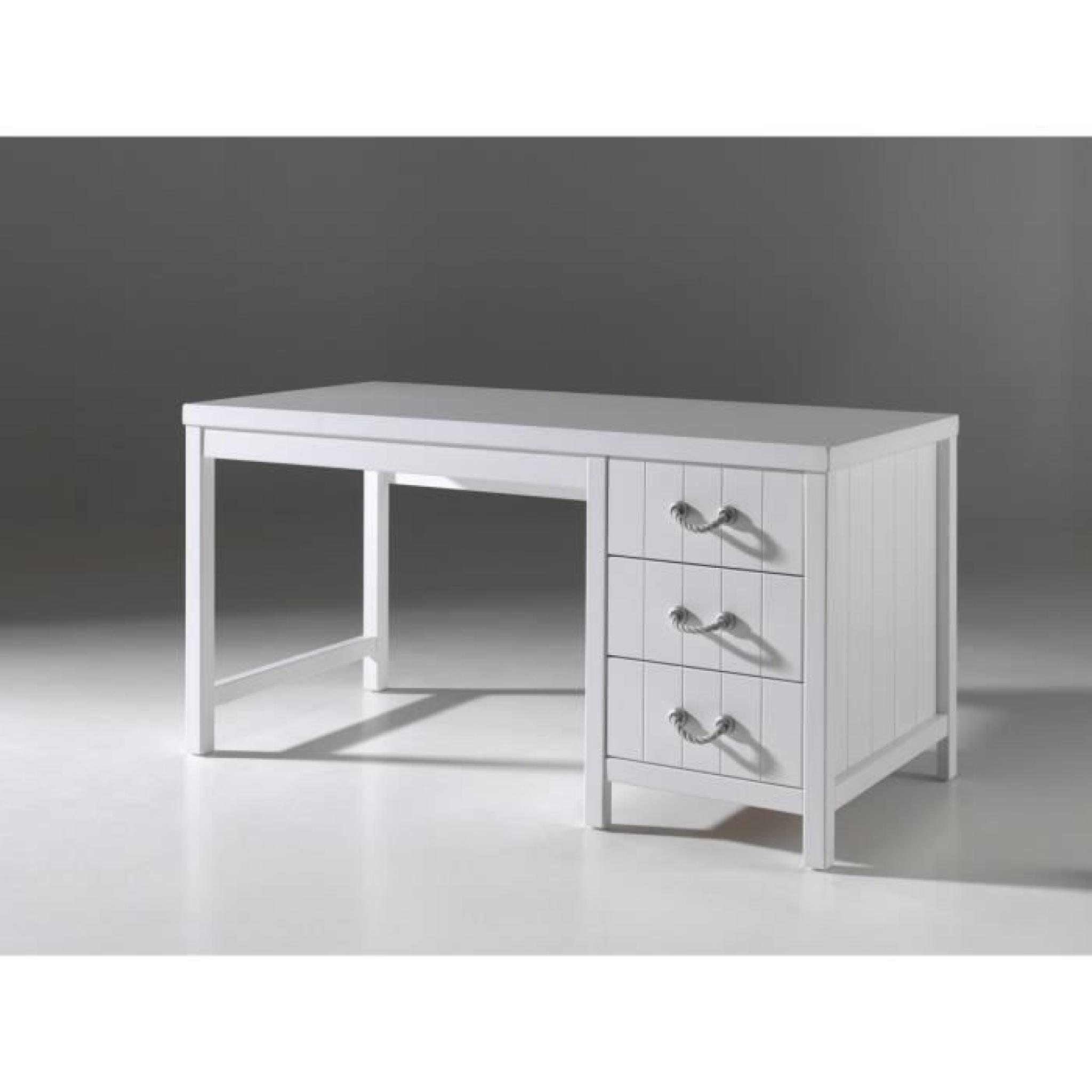 Lewis Meuble De Chambre 4 Pieces Blanc Achat Vente Chambre
