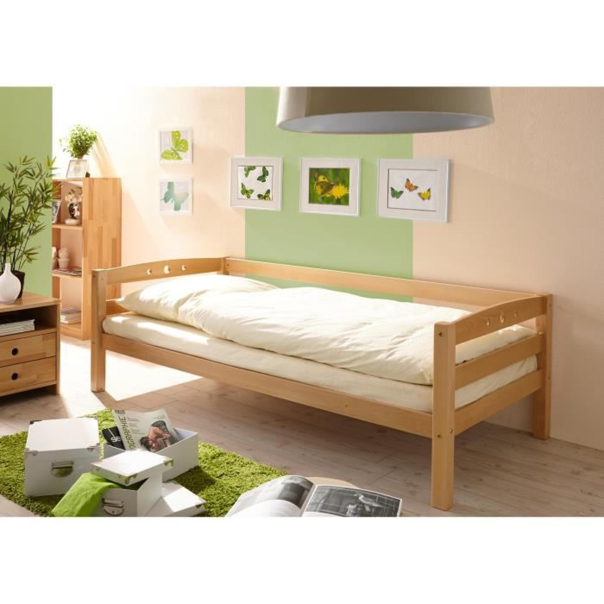 achat lit pas cher lits cm achat vente lits cm pas cher. Black Bedroom Furniture Sets. Home Design Ideas