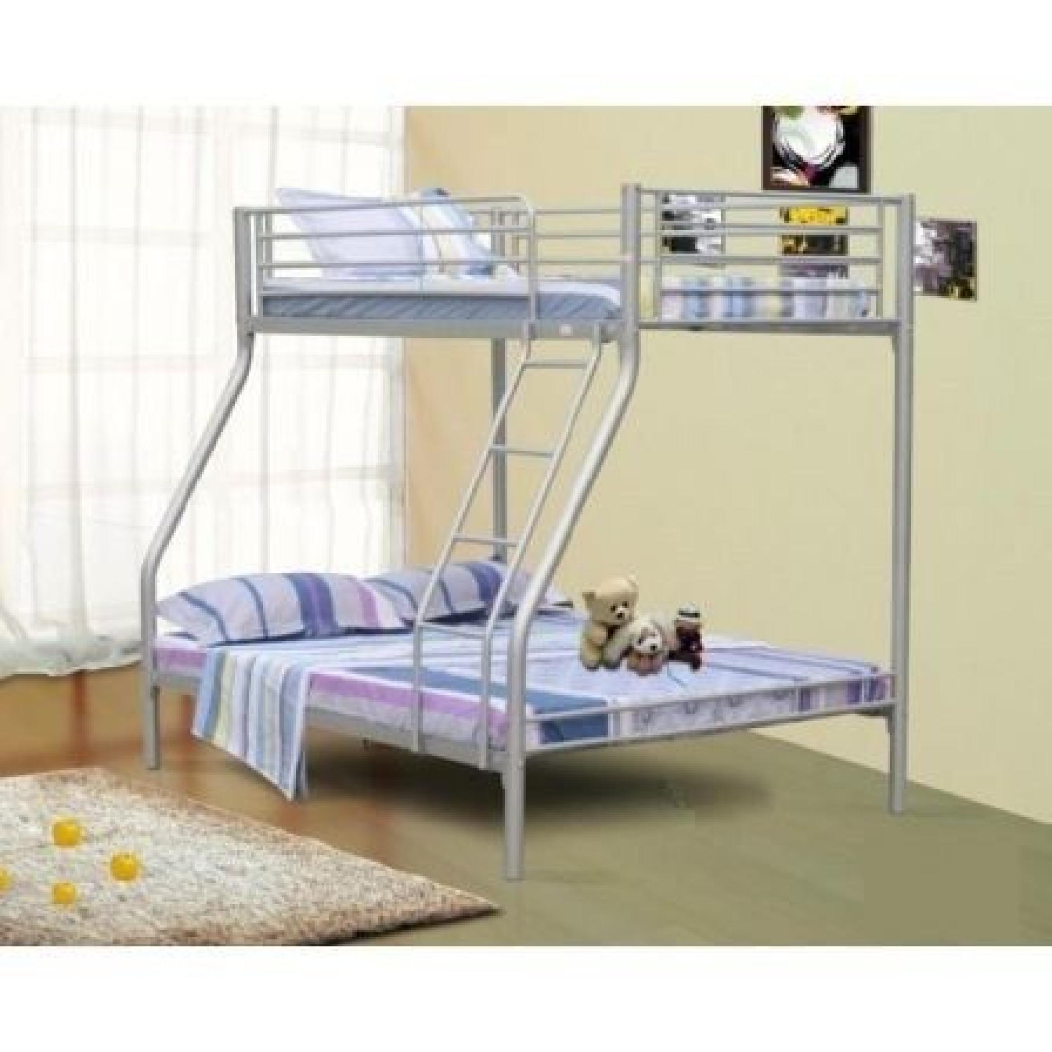 lit superpos 3 places achat vente lit superpose pas. Black Bedroom Furniture Sets. Home Design Ideas