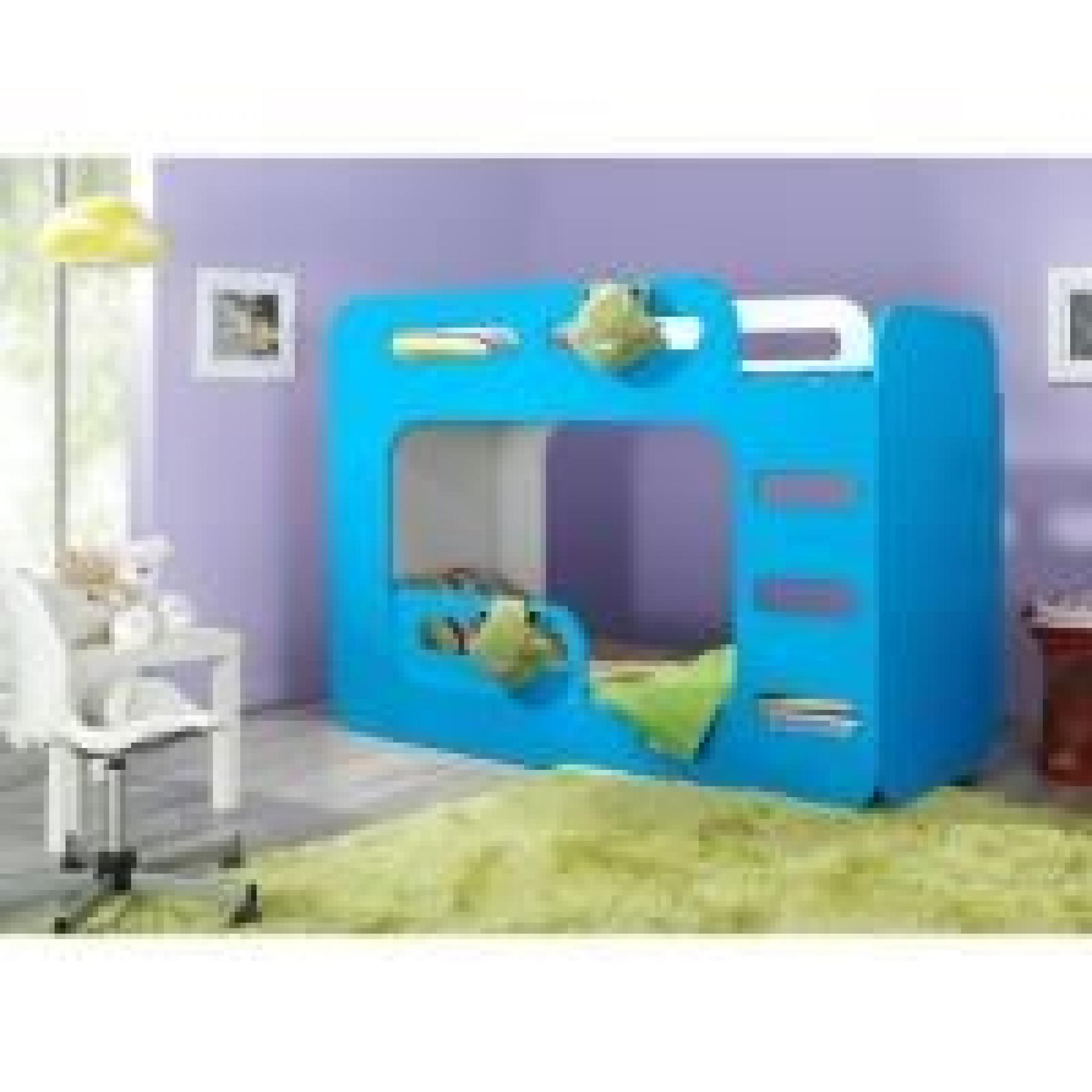 lits superpos s enfant bingo rose achat vente lit. Black Bedroom Furniture Sets. Home Design Ideas