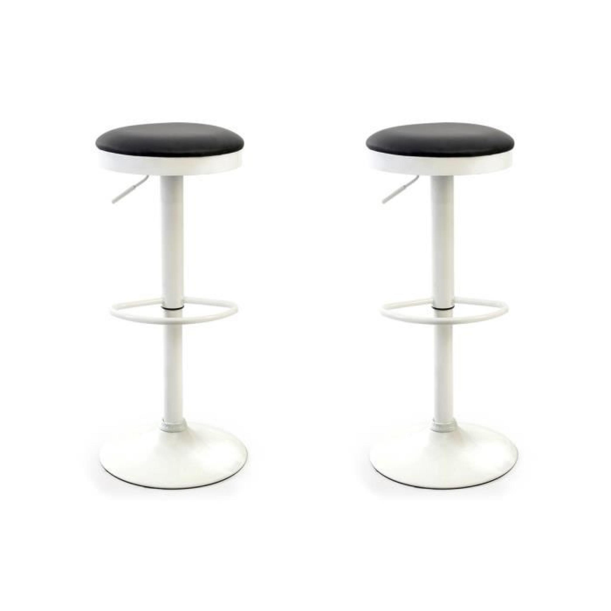 lot de 2 tabouret de bar pas cher lot de tabourets de bar. Black Bedroom Furniture Sets. Home Design Ideas