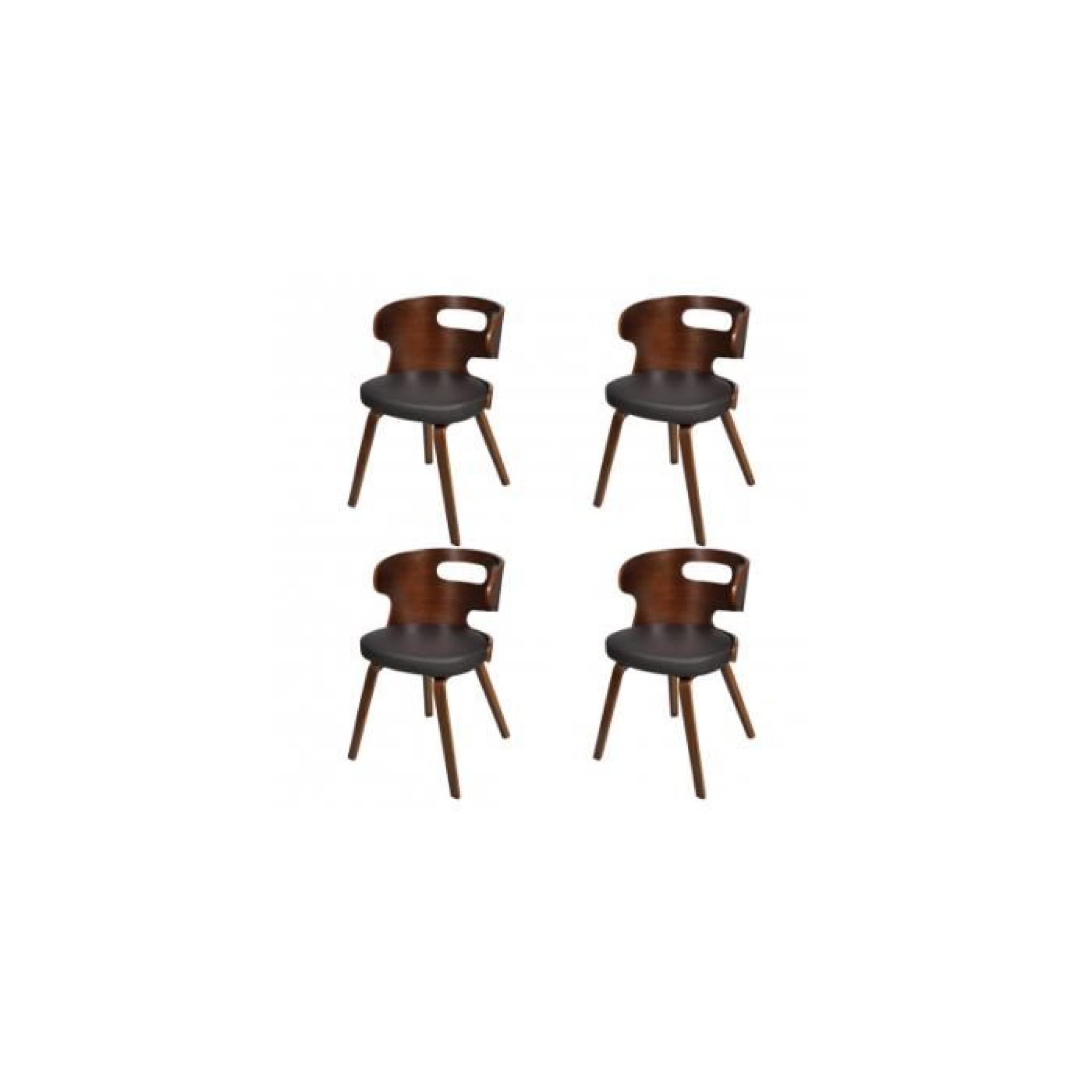 Lot de 4 chaises de salle achat vente chaise salle a manger pas cher couleur et - Lot de 4 chaise pas cher ...