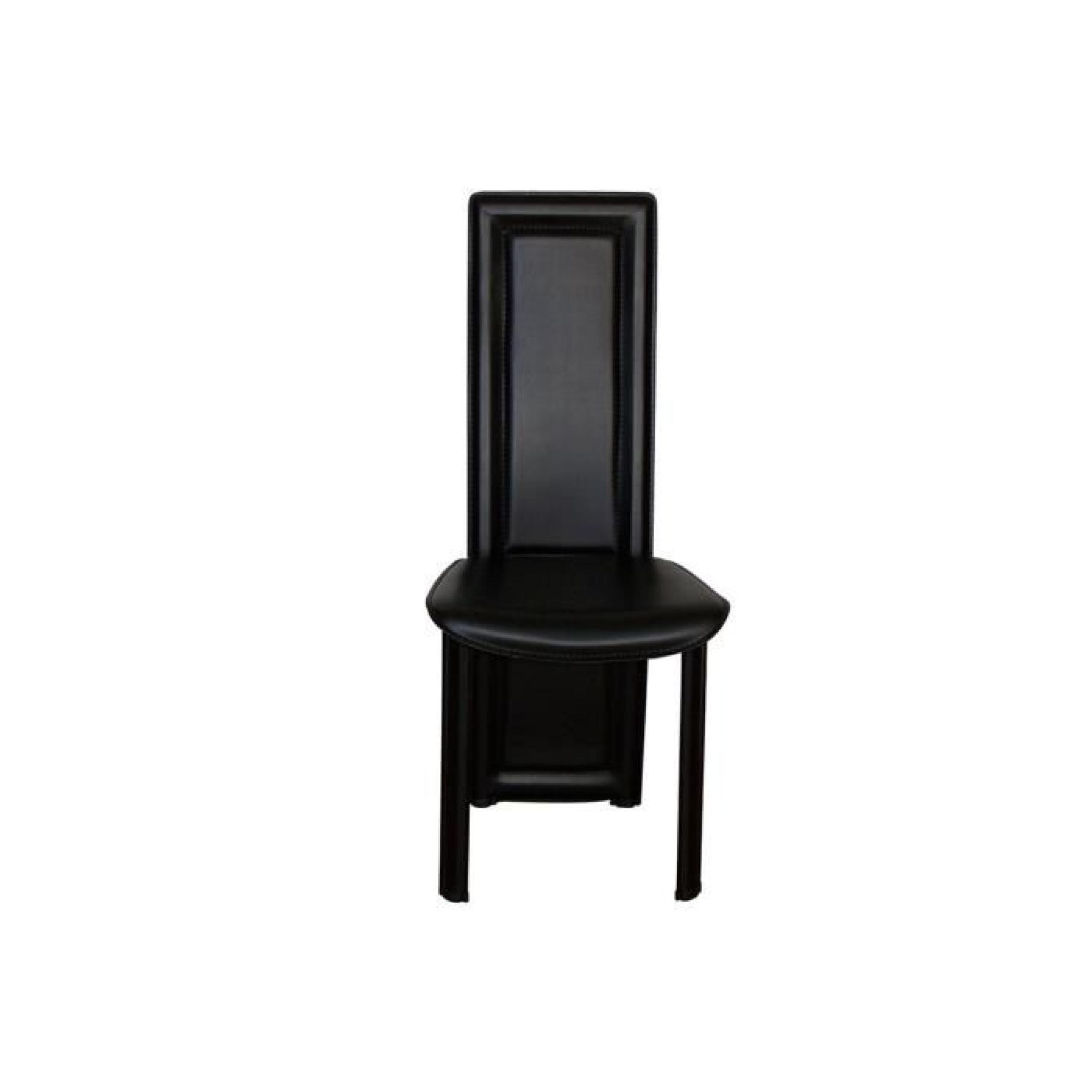 24 frais chaises salle manger noires phe2 meuble de for Chaises salle a manger 2 main