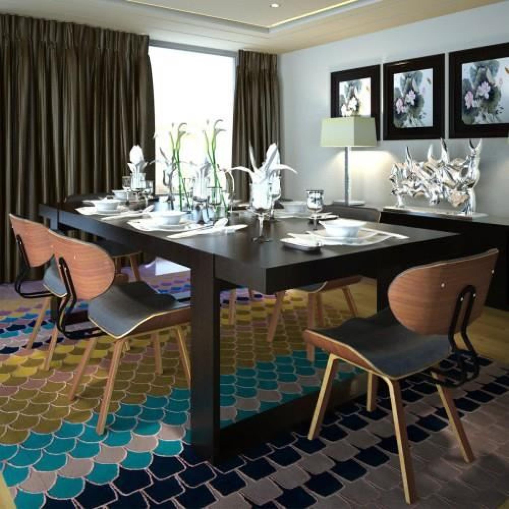 lot de 6 chaises de salle manger en cuir artificiel achat vente chaise salle a manger pas. Black Bedroom Furniture Sets. Home Design Ideas