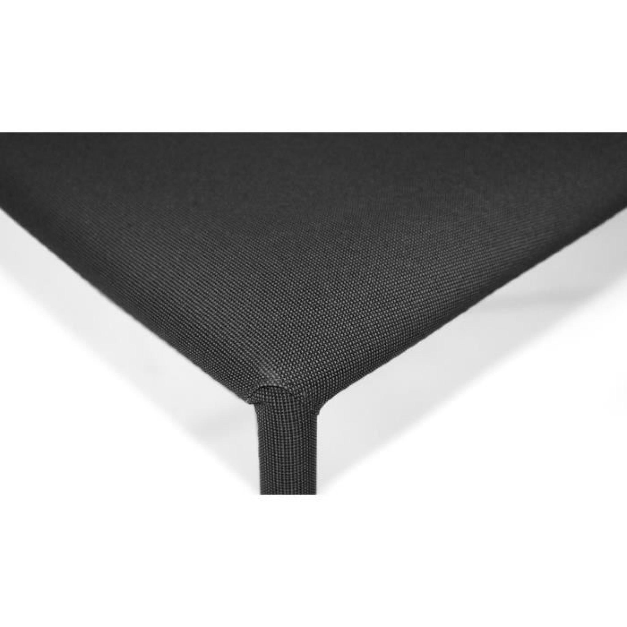 Lot de 6 chaises empilables modan noir achat vente chaise salle a manger pa - Chaise pas cher lot de 6 ...