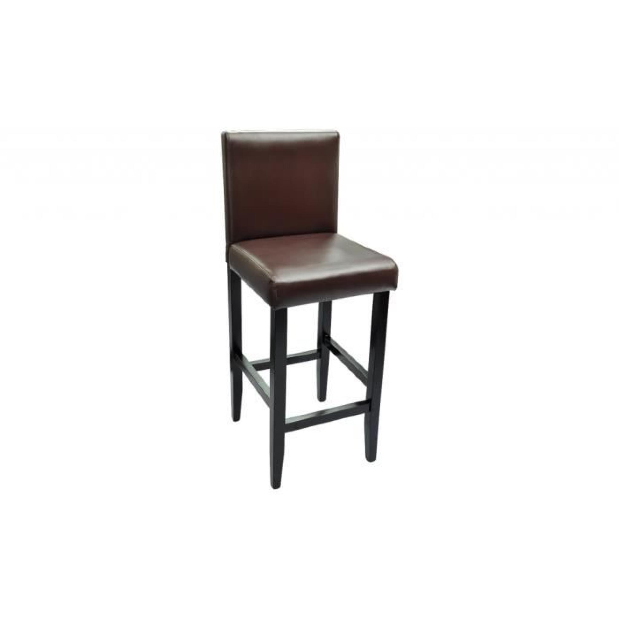 lot de 6 tabourets de bar chicago achat vente tabouret de bar pas cher couleur et. Black Bedroom Furniture Sets. Home Design Ideas