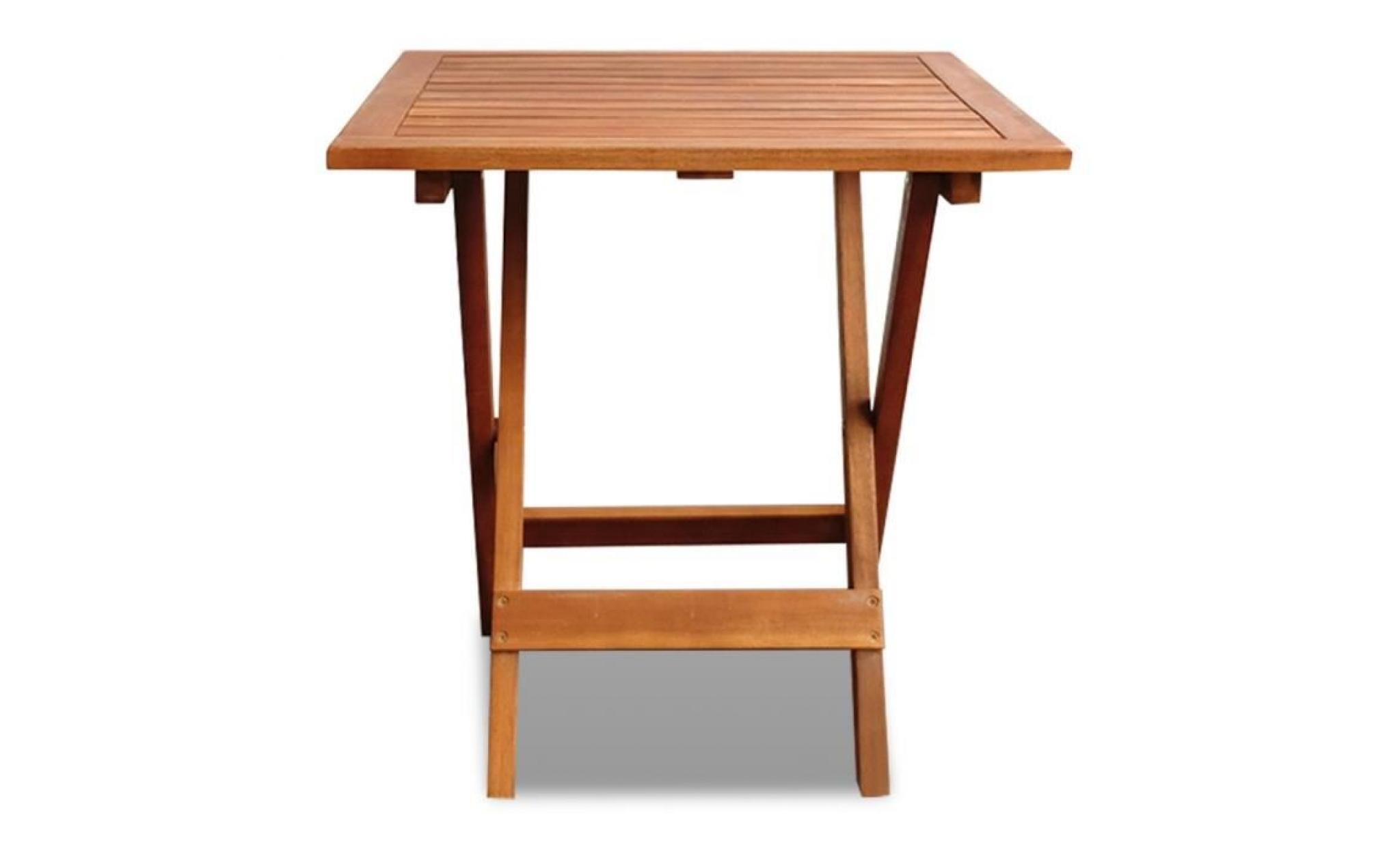 magnifique table basse / d\'appoint de jardin en acacia