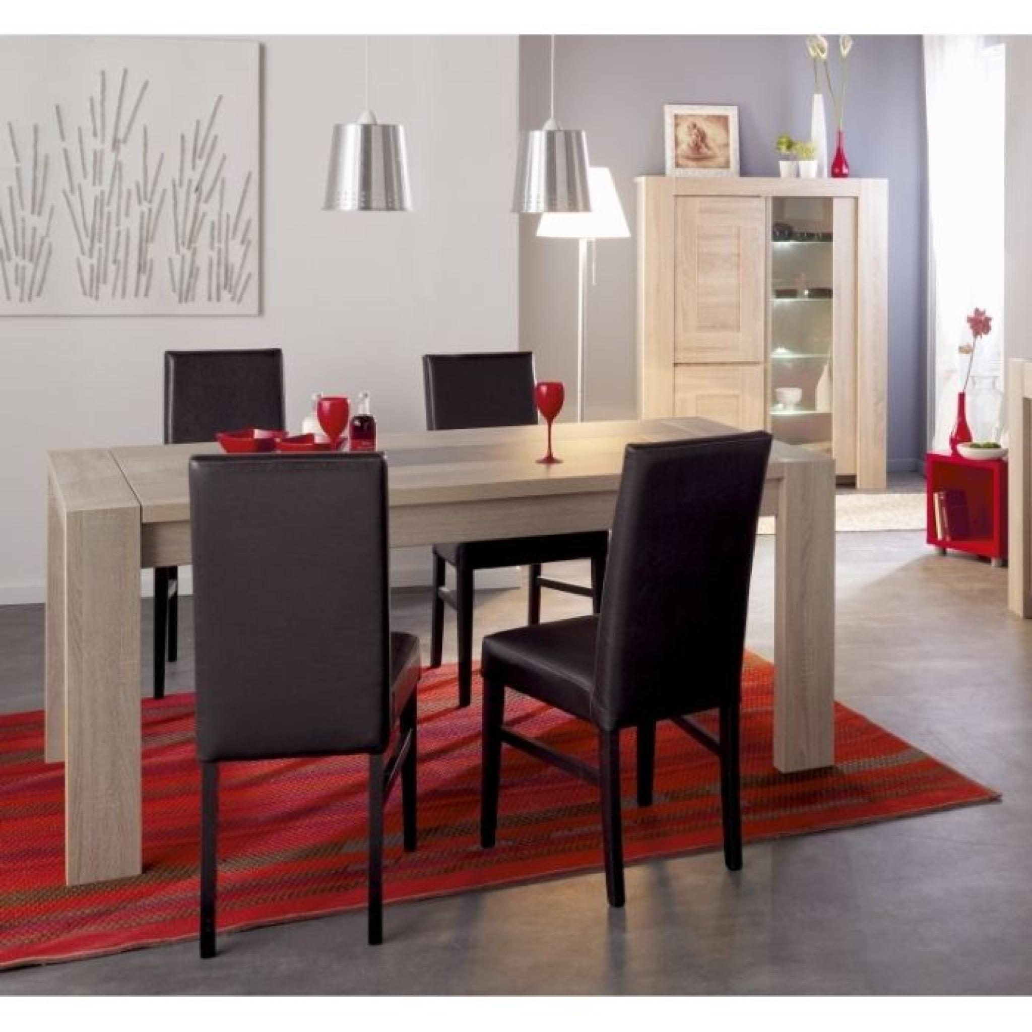 #762726 MATHIAS Table Extensible 180/240cm Coloris Chêne Achat  4159 vente salle a manger pas cher 2048x2048 px @ aertt.com
