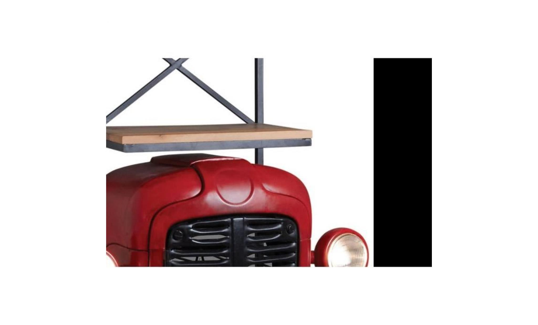 Meuble Bar Tracteur Rouge