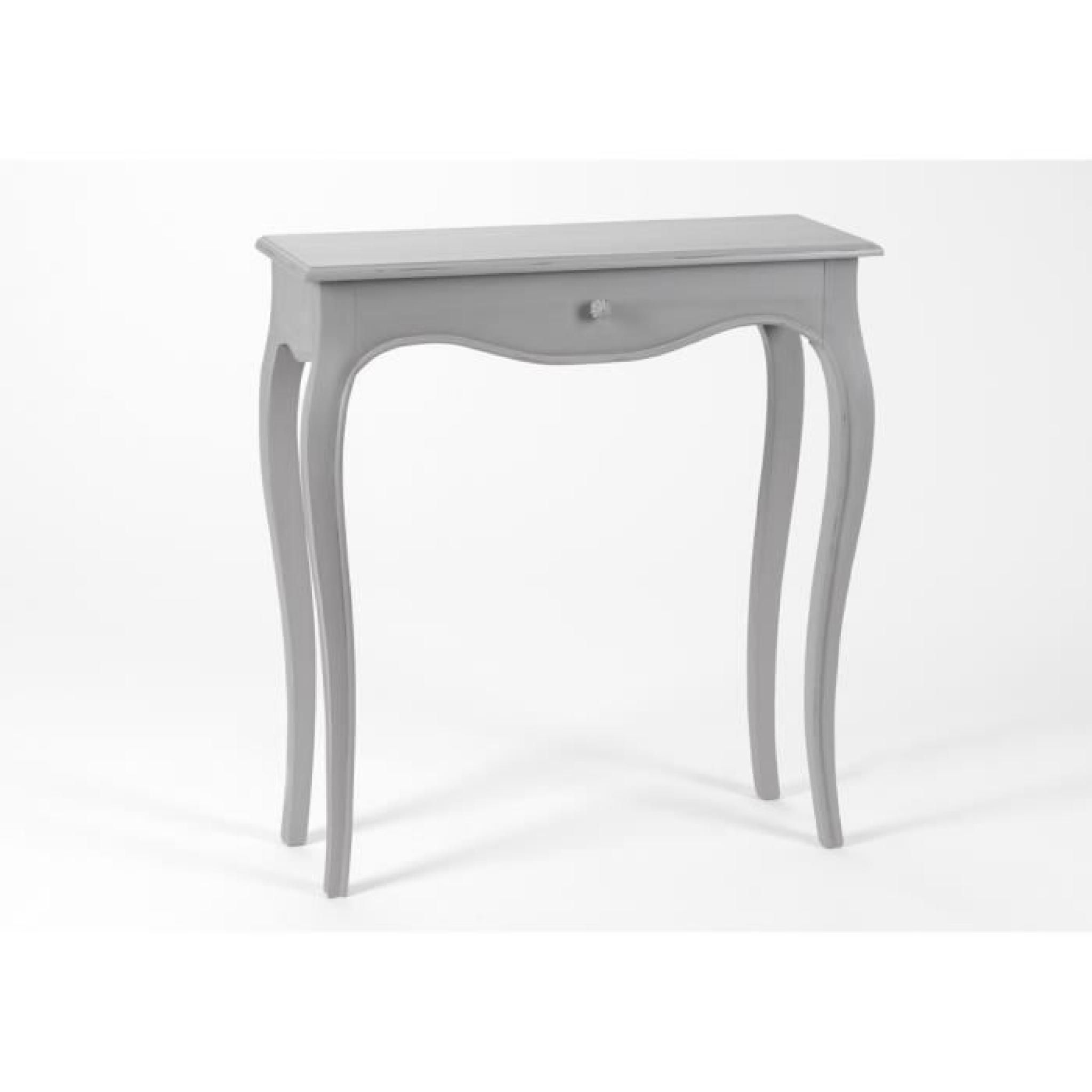 meuble console bois faux tiroir merveille achat vente. Black Bedroom Furniture Sets. Home Design Ideas