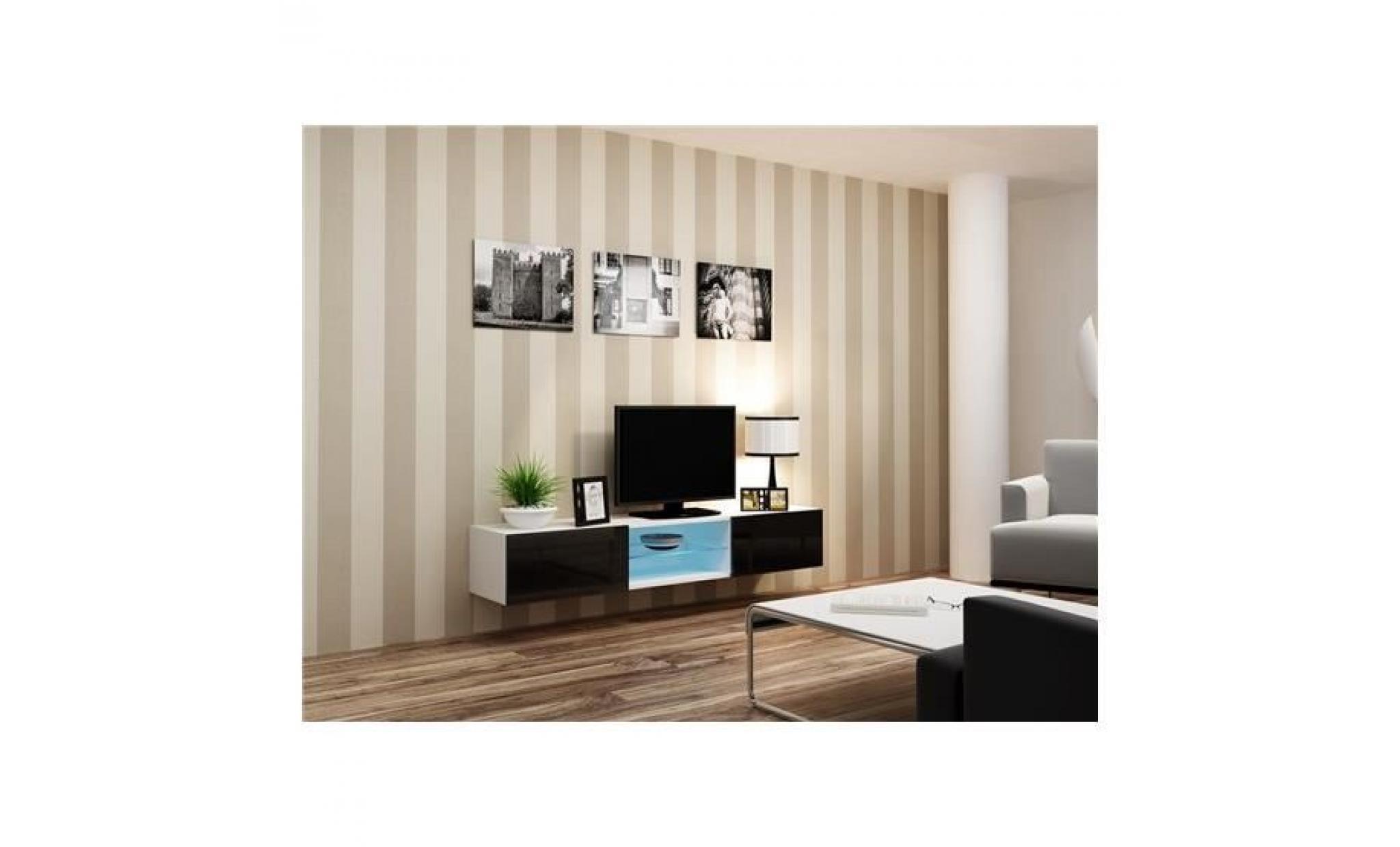 acheter meuble tv design pas cher. Black Bedroom Furniture Sets. Home Design Ideas