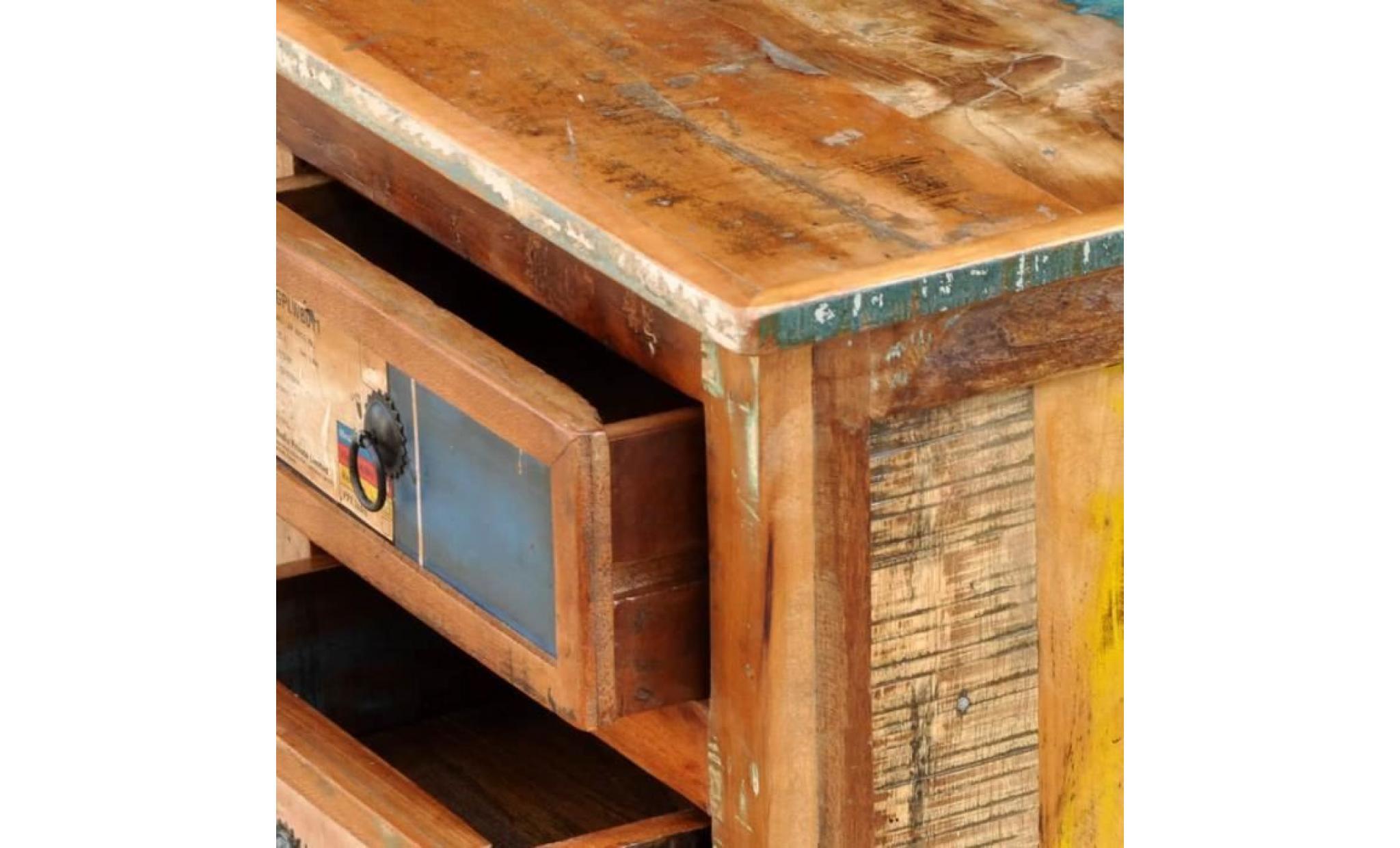 meuble tv meuble hifi audio vidéo et pour home cinéma bois massif de sesahm  12 x 12 x 12 cm