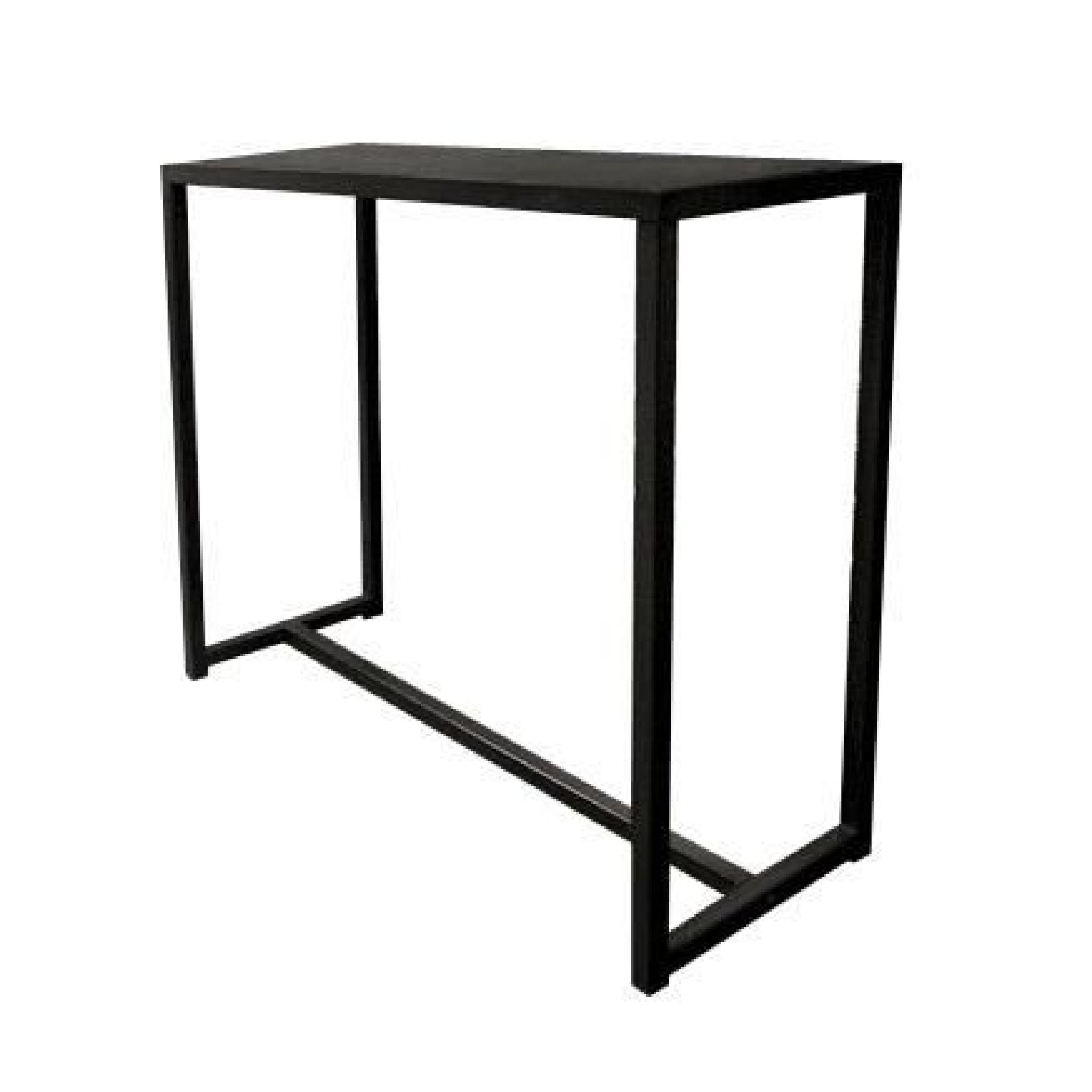miliboo console industrielle en m tal et b to achat vente console meuble pas cher couleur. Black Bedroom Furniture Sets. Home Design Ideas