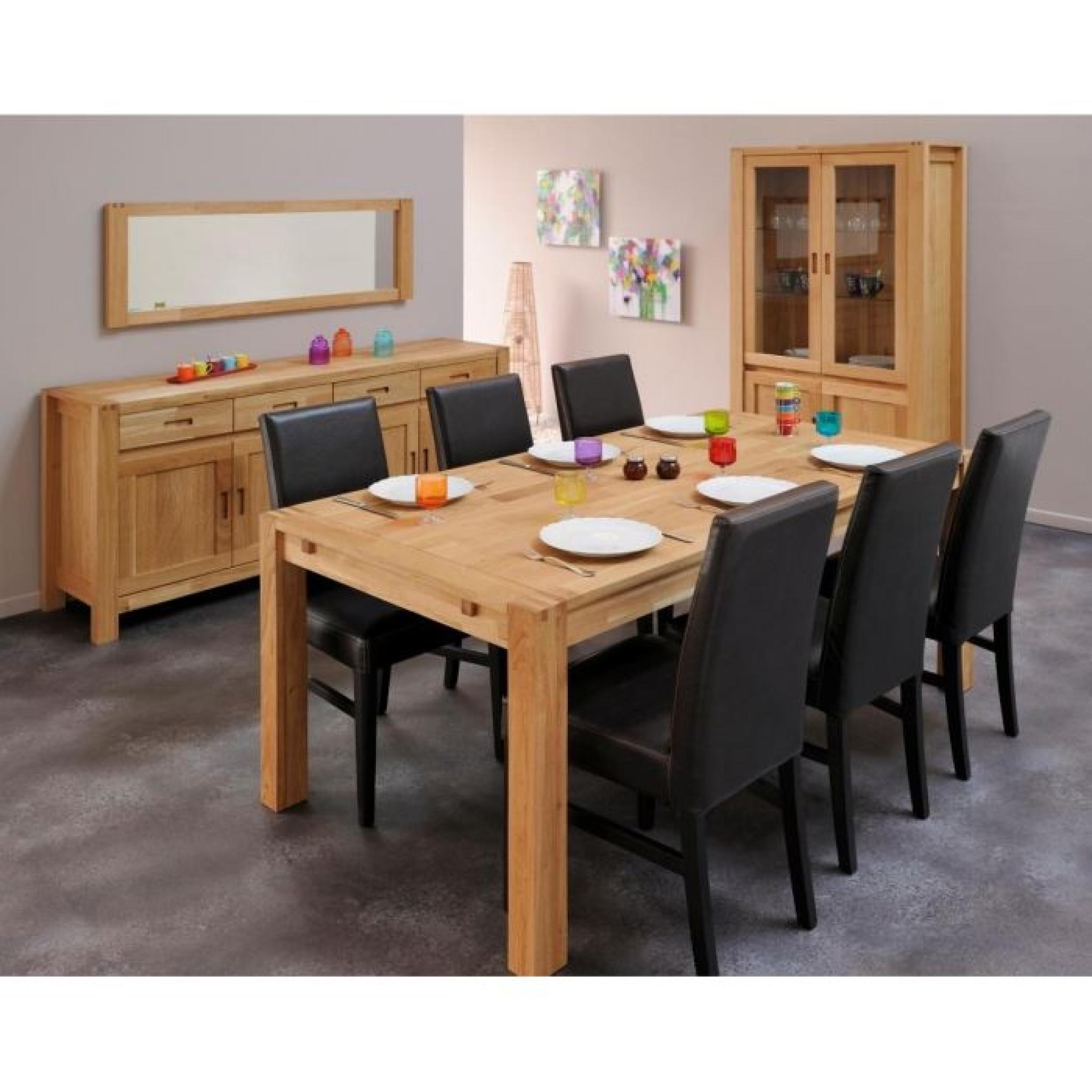 Chêne Table En Massif 180260cm Nathan Extensible 80OwnPk