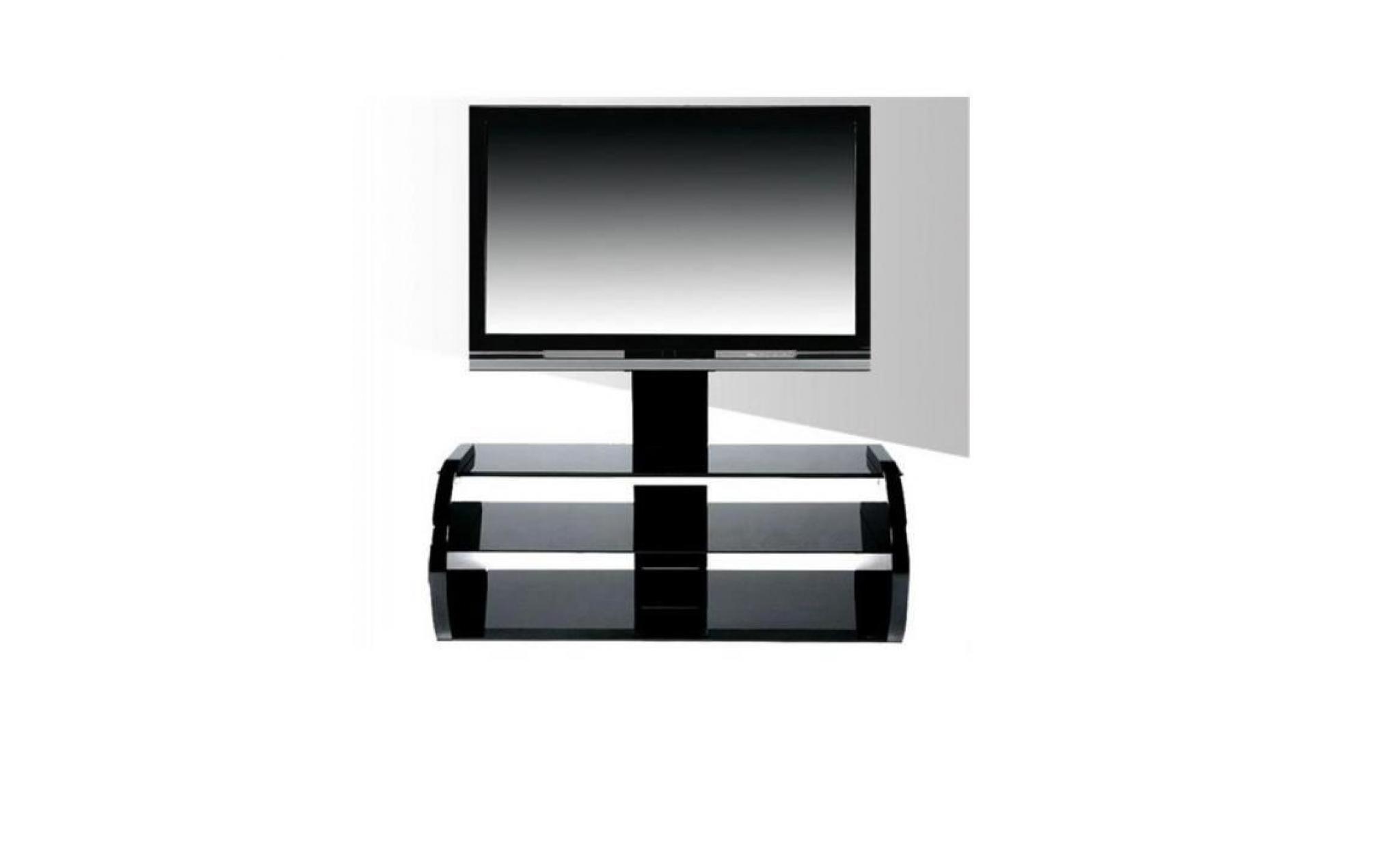 Neostyle Meuble Support Tv 3 Plateaux Noir Nc14 1100