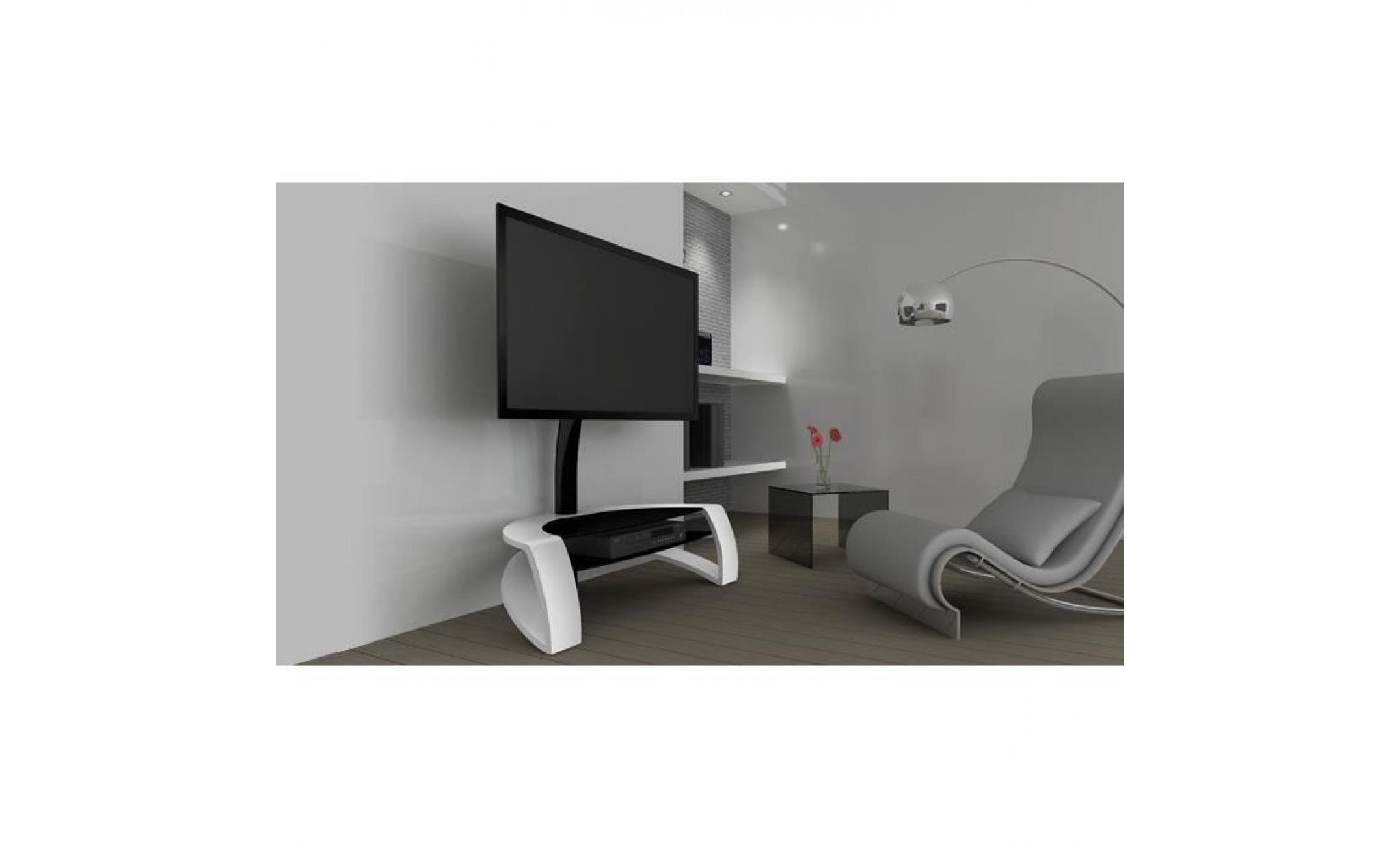 Norstone Galby Meuble Support Tv Jusqu 46 Achat Vente Meuble  # Meuble Support Tv