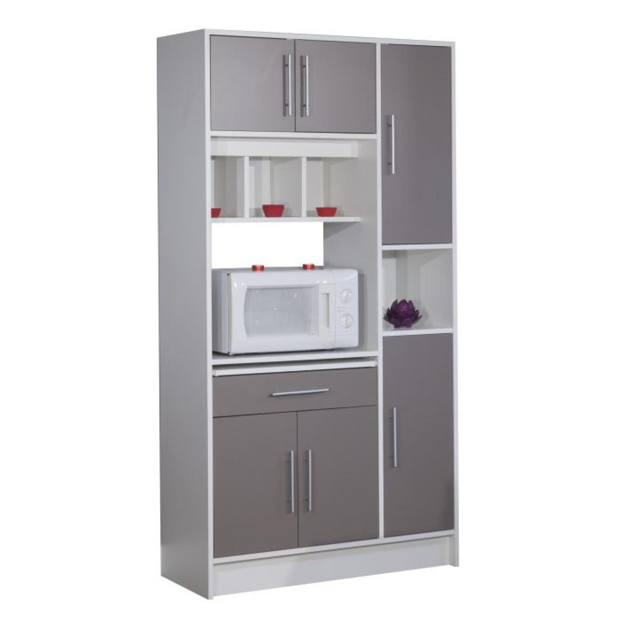 pepper buffet de cuisine 88cm taupe achat vente buffet. Black Bedroom Furniture Sets. Home Design Ideas