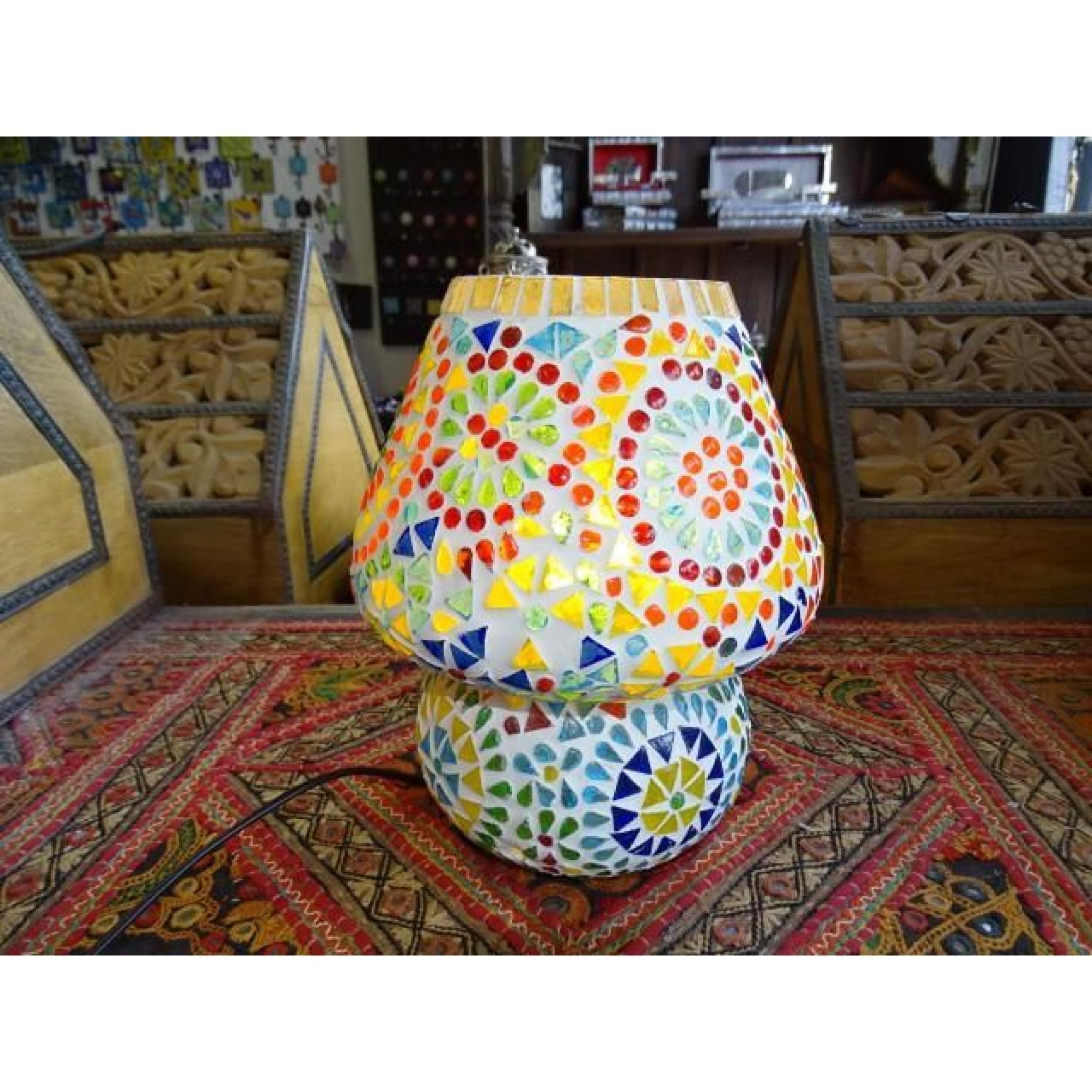 Mosaique Lampe Mosaique Ronde Multicolor Multicolor Lampe Petite Lampe Petite Ronde Petite tCsrhdQ