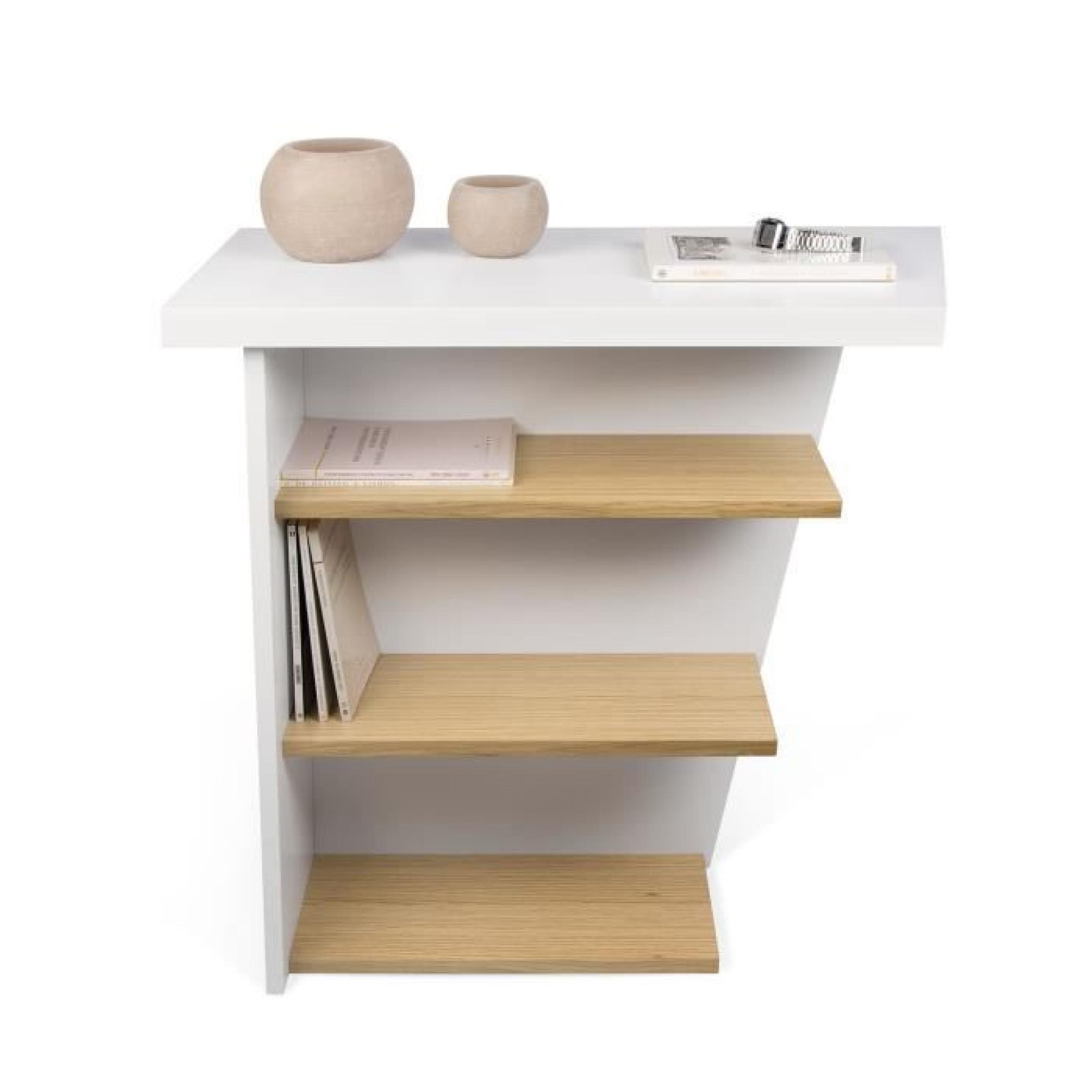 pise console d 39 entr e 3 tag res achat vente console meuble pas cher couleur et. Black Bedroom Furniture Sets. Home Design Ideas
