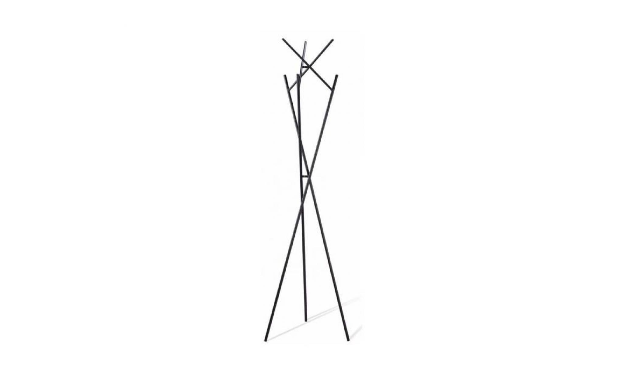 Porte Manteau Design Metal Nestor Couleur Gris Achat Vente