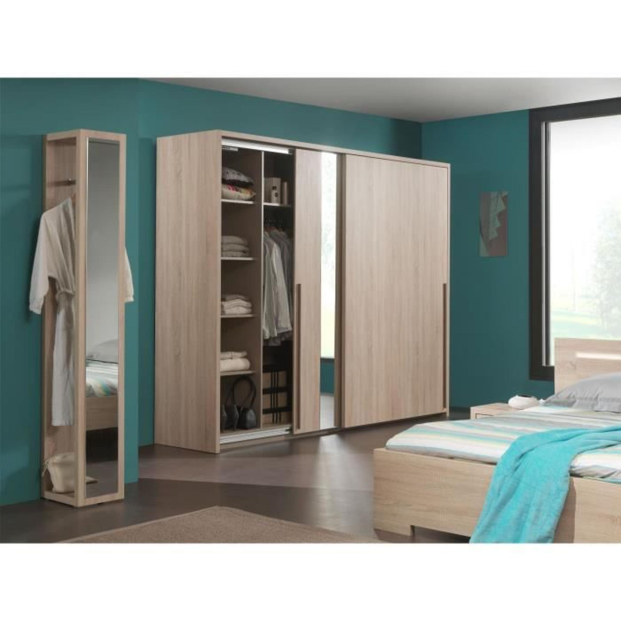 porte manteau pour chambre adulte avec miroir achat. Black Bedroom Furniture Sets. Home Design Ideas