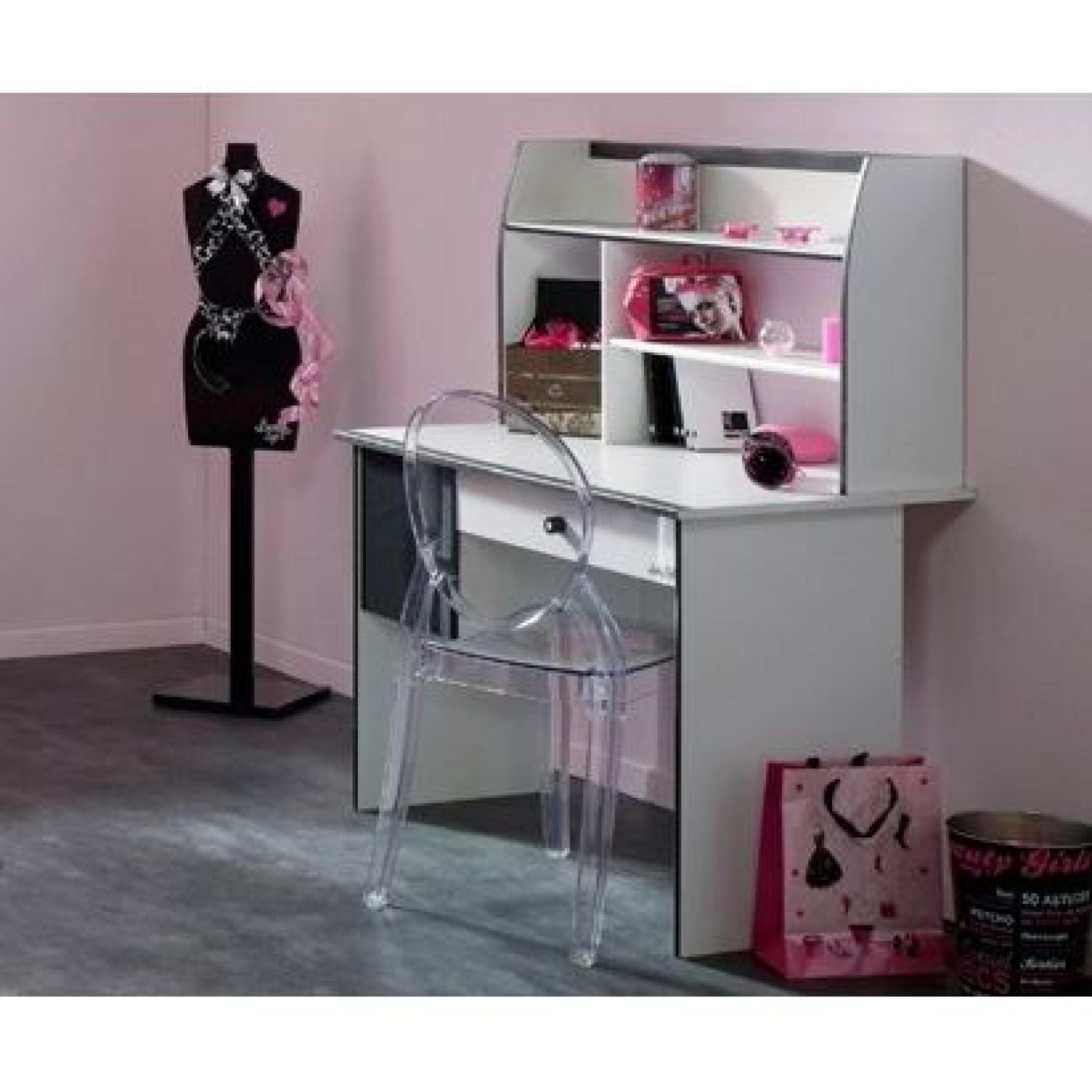 Pretty chambre compl te enfant 90x190 blanc noir achat - Chambre enfant complete pas cher ...