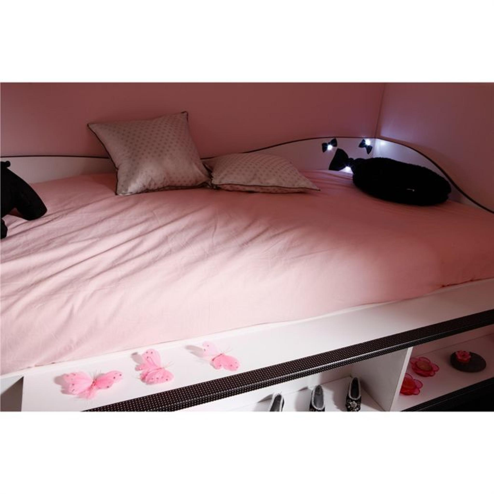 lit combine pas cher maison design. Black Bedroom Furniture Sets. Home Design Ideas
