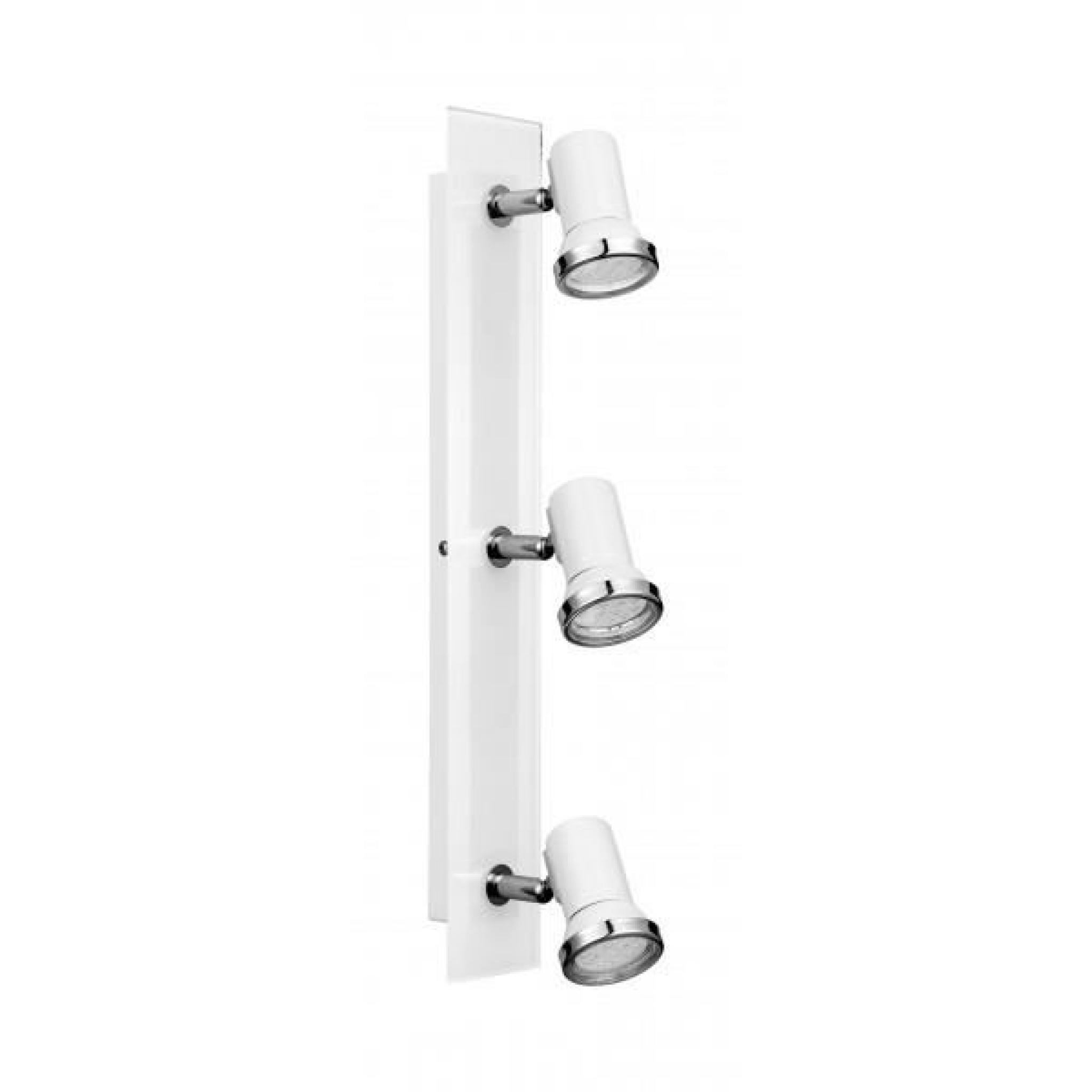 Réglette 3 spots LED orientable de salle de bain - Achat/Vente ...