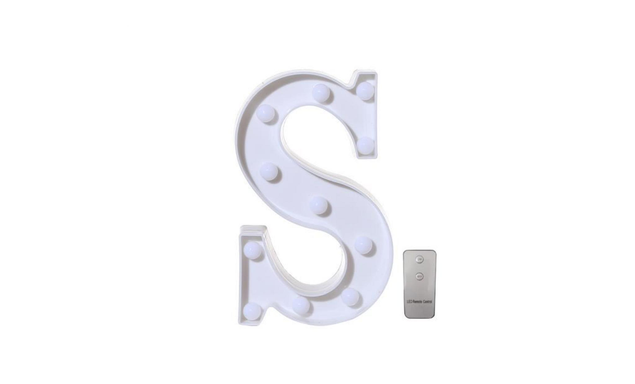 remote control alphabet letter lights led light up white plastic letters stand a pageare3659 pageare3659 pas cher