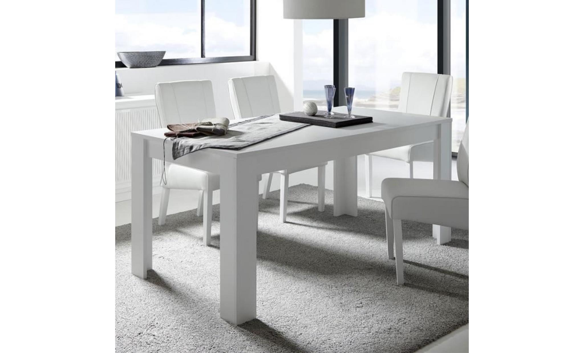 salle manger compl te relief bandes ondul es rimini n 1 l 137 x l 90 x h 79 achat vente. Black Bedroom Furniture Sets. Home Design Ideas