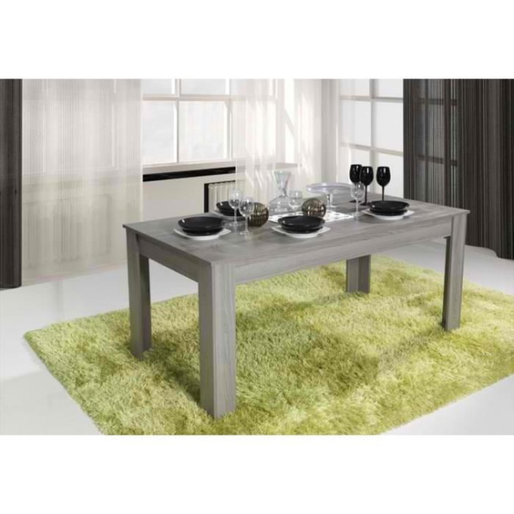 salle manger nany buffet vitrine table 160cm achat vente ensemble salle a manger pas. Black Bedroom Furniture Sets. Home Design Ideas