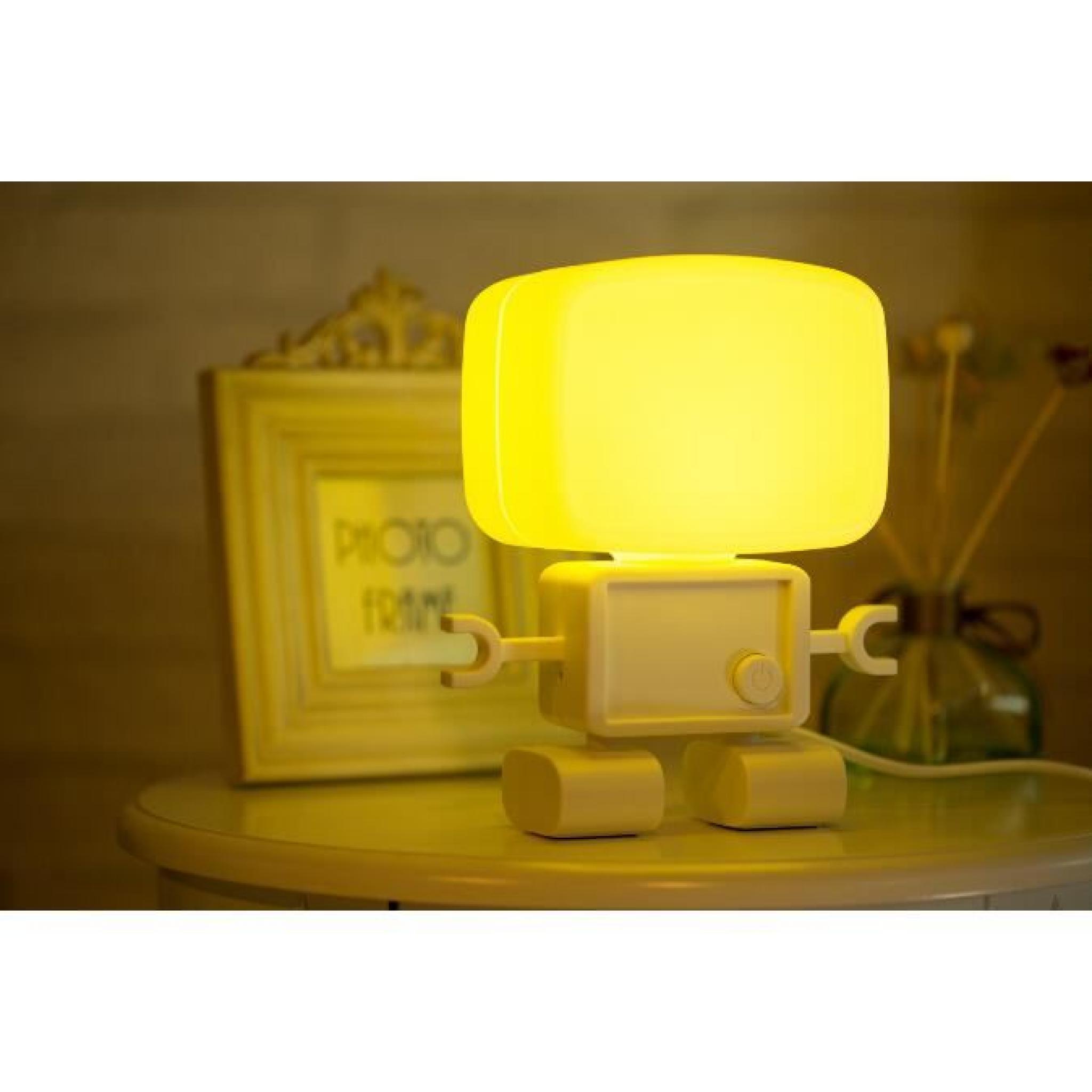 Son robots intelligents et de commande de lumière lampe petite ...