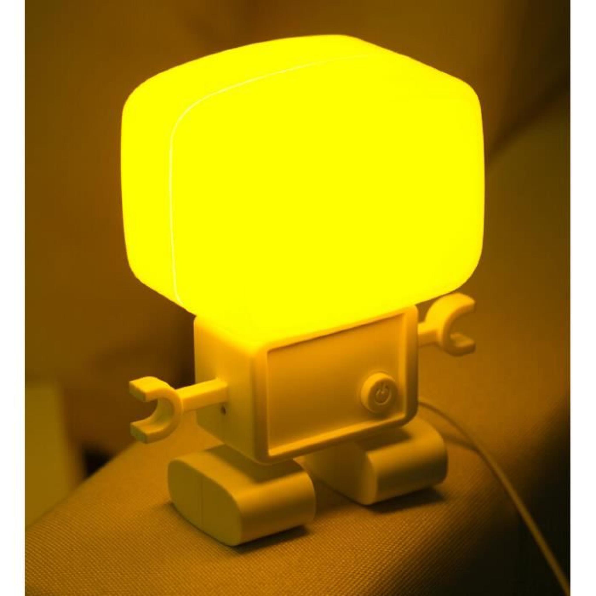 Son robots intelligents et de commande de lumi re lampe petite lampe murale l - Petit chevet pas cher ...
