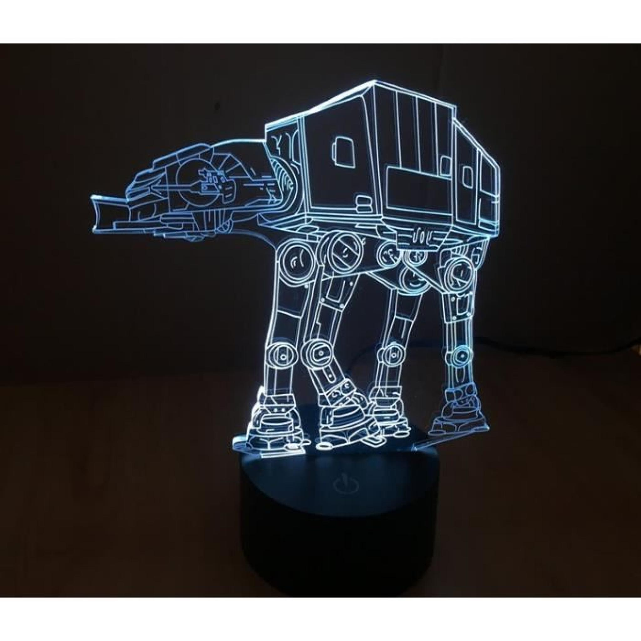 star wars 3d lampe troupe chien achat vente lampe a. Black Bedroom Furniture Sets. Home Design Ideas