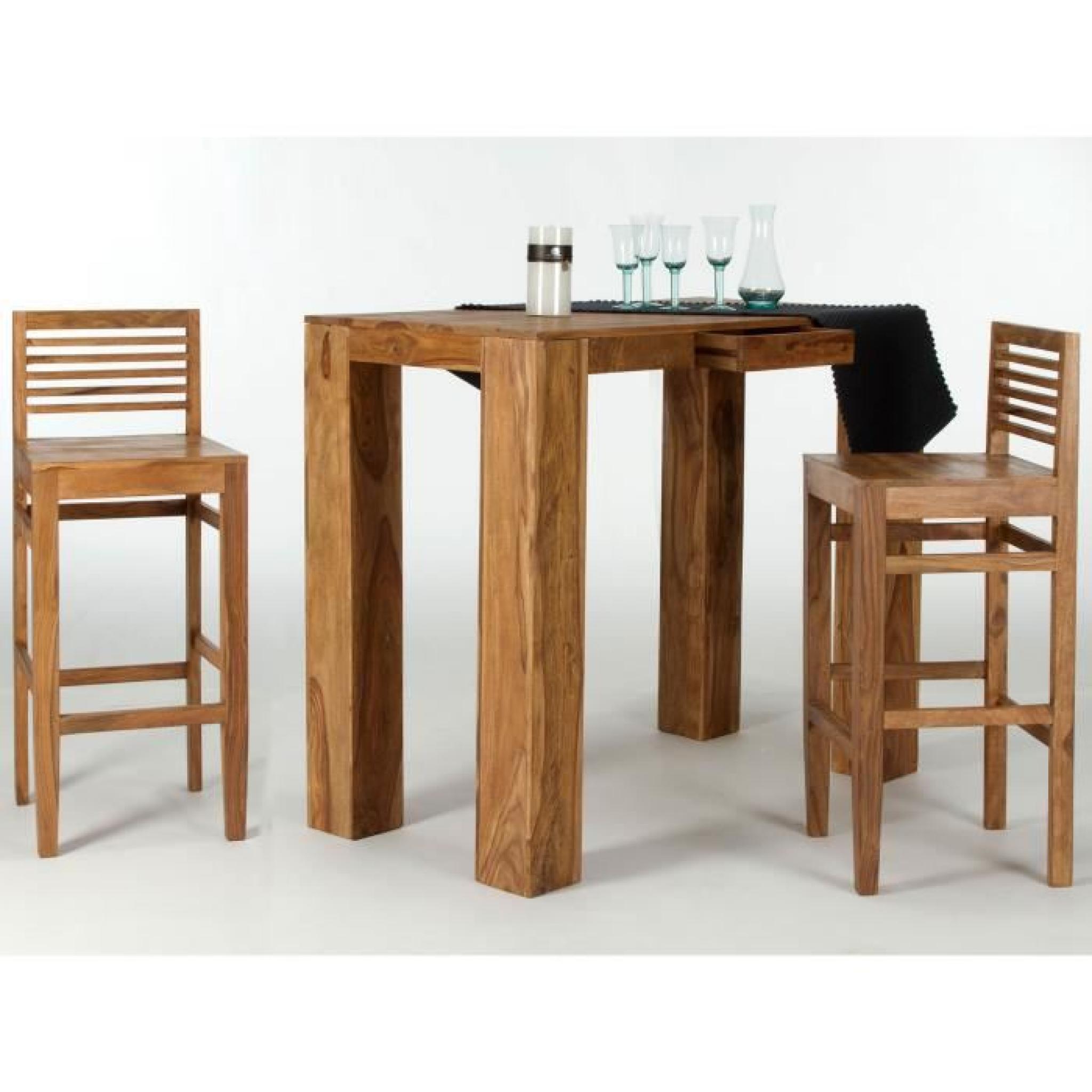 Bar Stark En De Table Et 135x70 Pal I Chaises 2 Rc3AjL4S5q