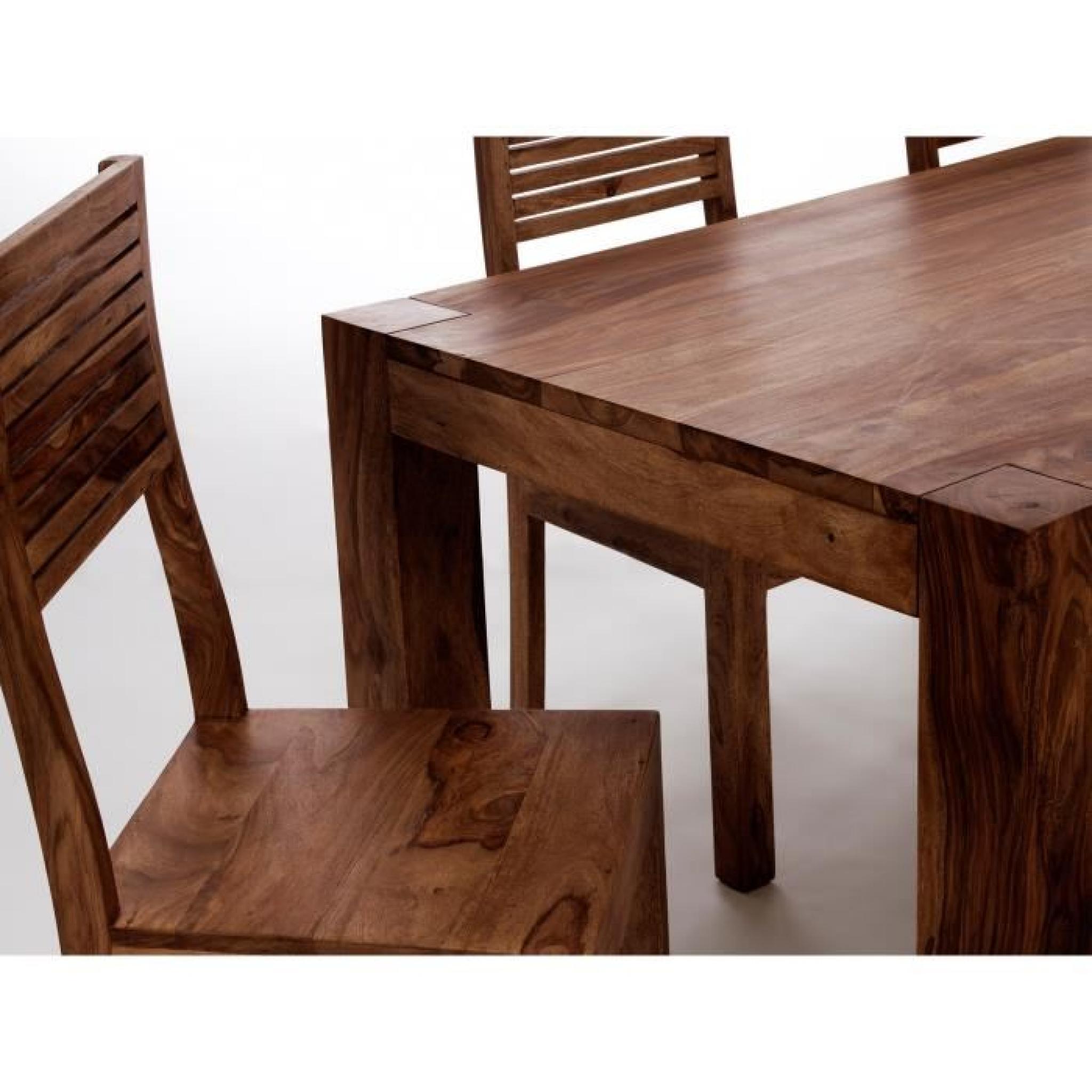Table 200x100 Avec 4 Chaises Et Banc Palison Fo Achat Vente