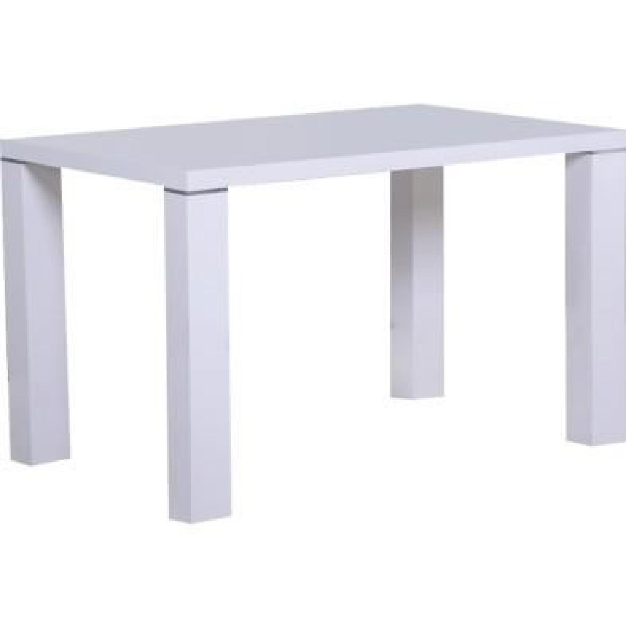 Table A Manger 120 Cm.Table A Manger 120 Cm Blanc Laque