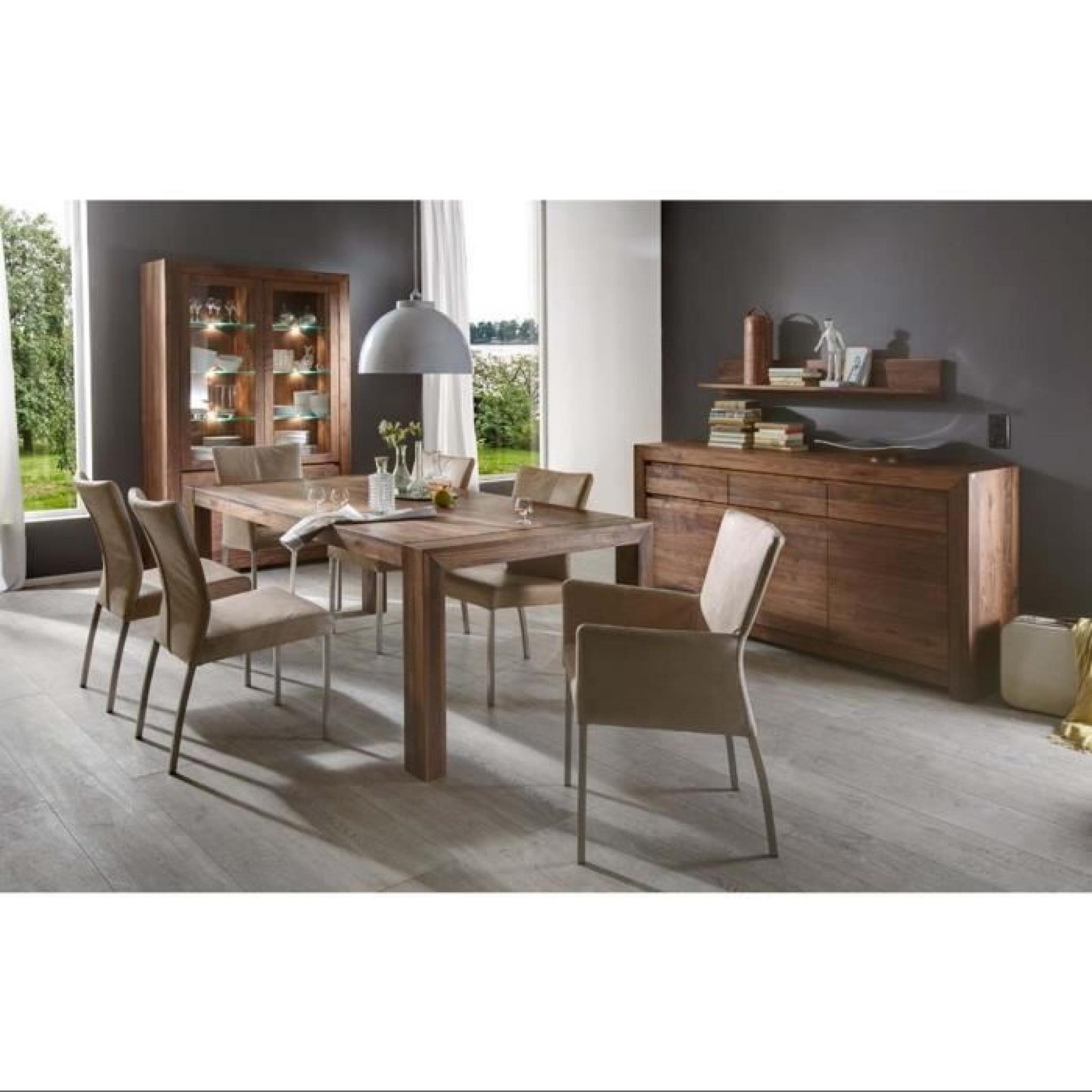table à manger design vermont atylia dimensions 200 cm