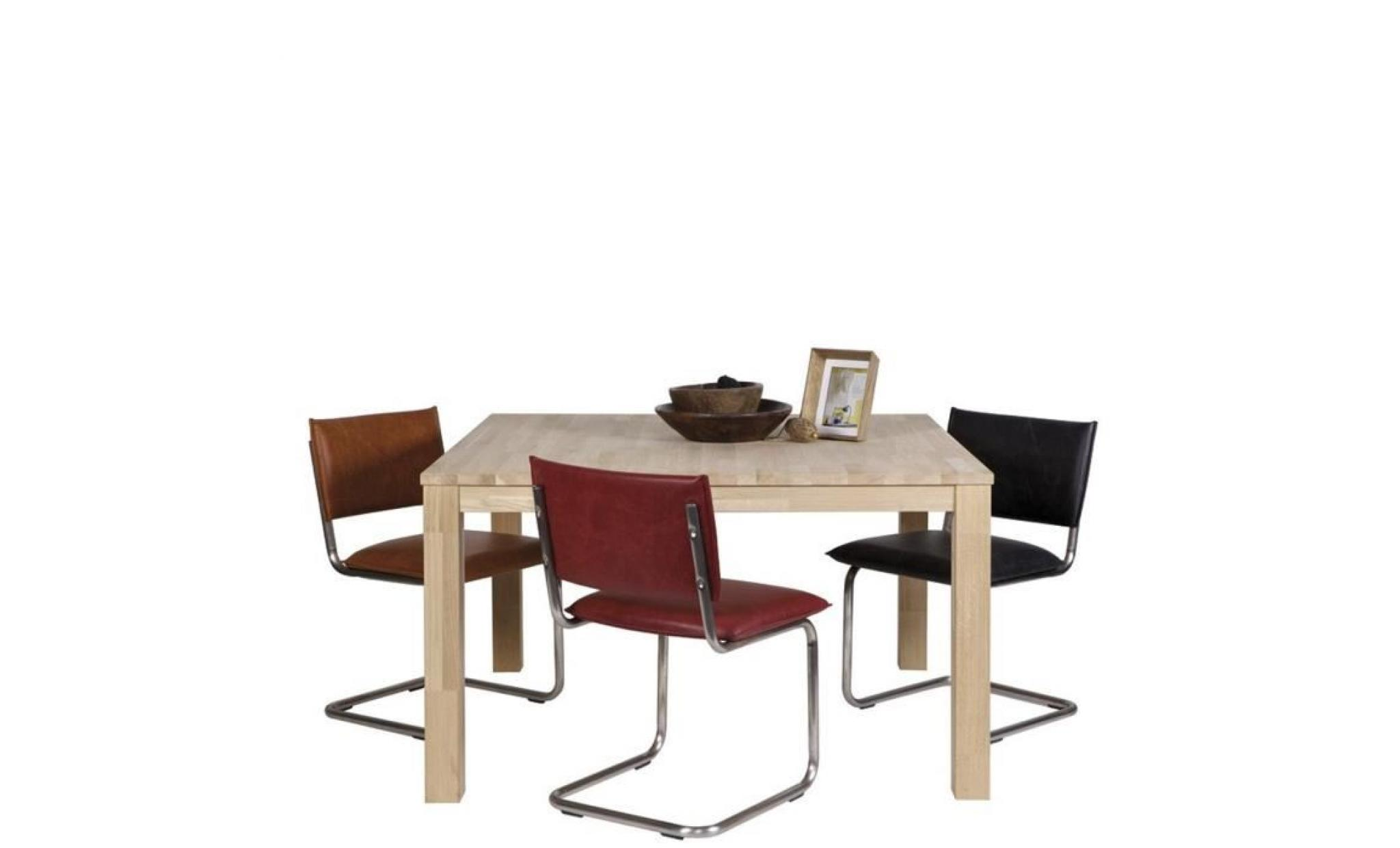 Table manger en ch ne massif brut dutchwood d achat - Table en chene massif pas cher ...