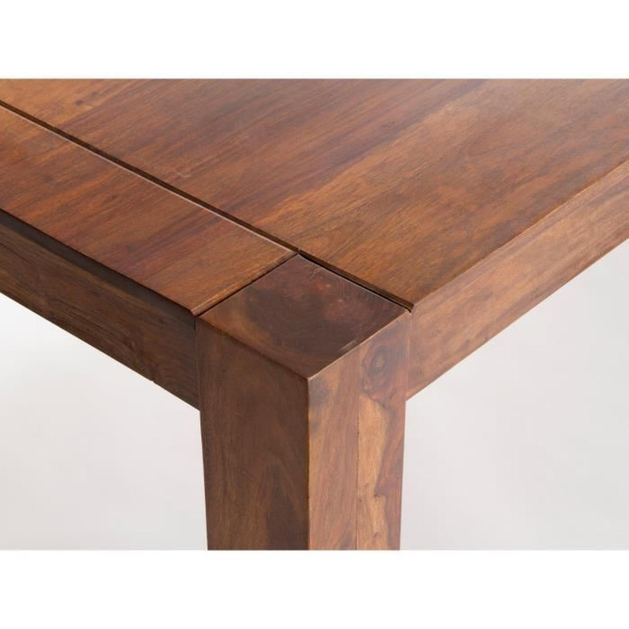 Table A Manger Monrovia 175x90 En Palissandre Brun Massivum Achat Vente Table Salle A Manger Pas Cher Couleur Et Design Fr